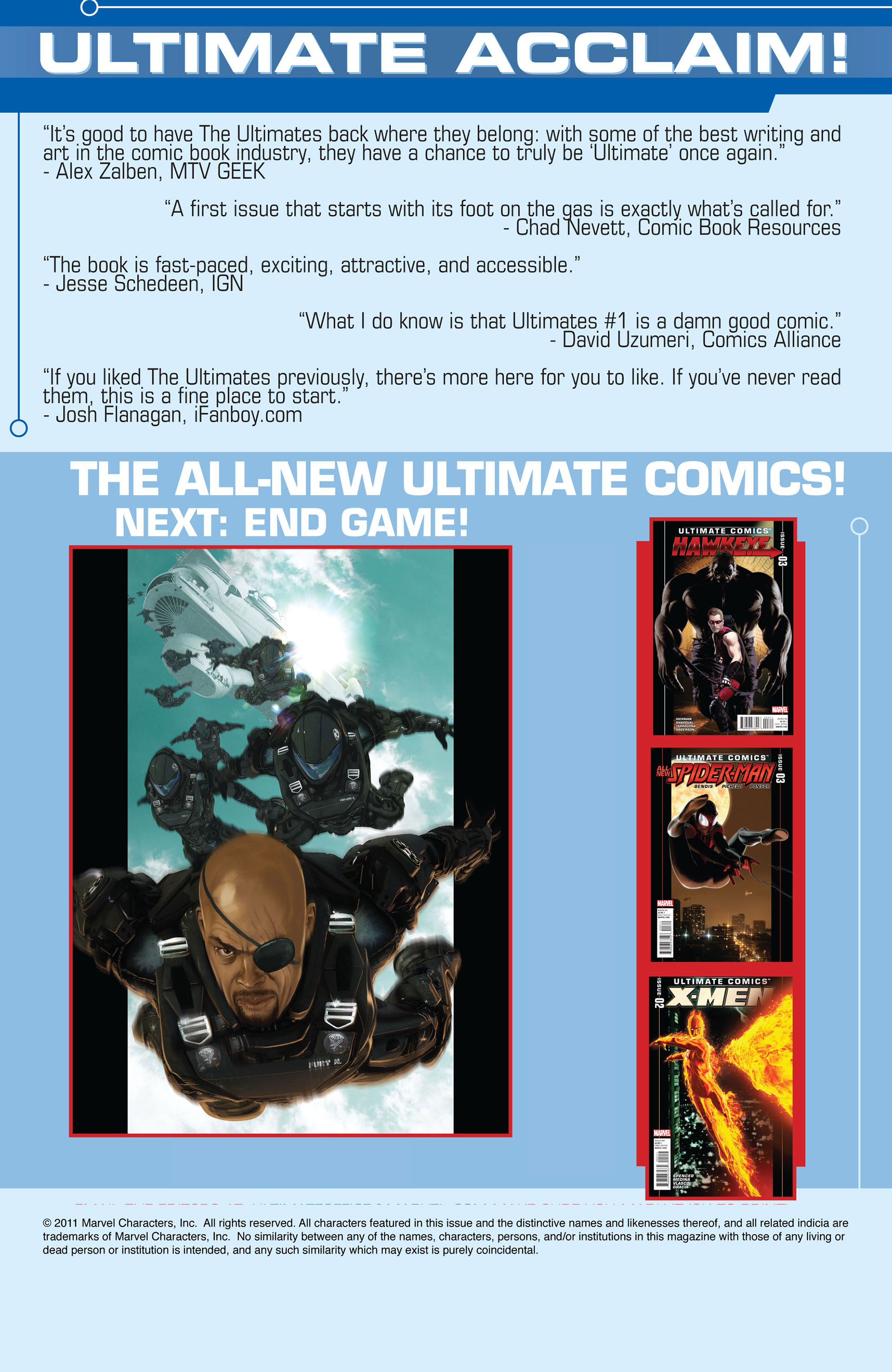 Read online Ultimate Comics Ultimates comic -  Issue #3 - 22