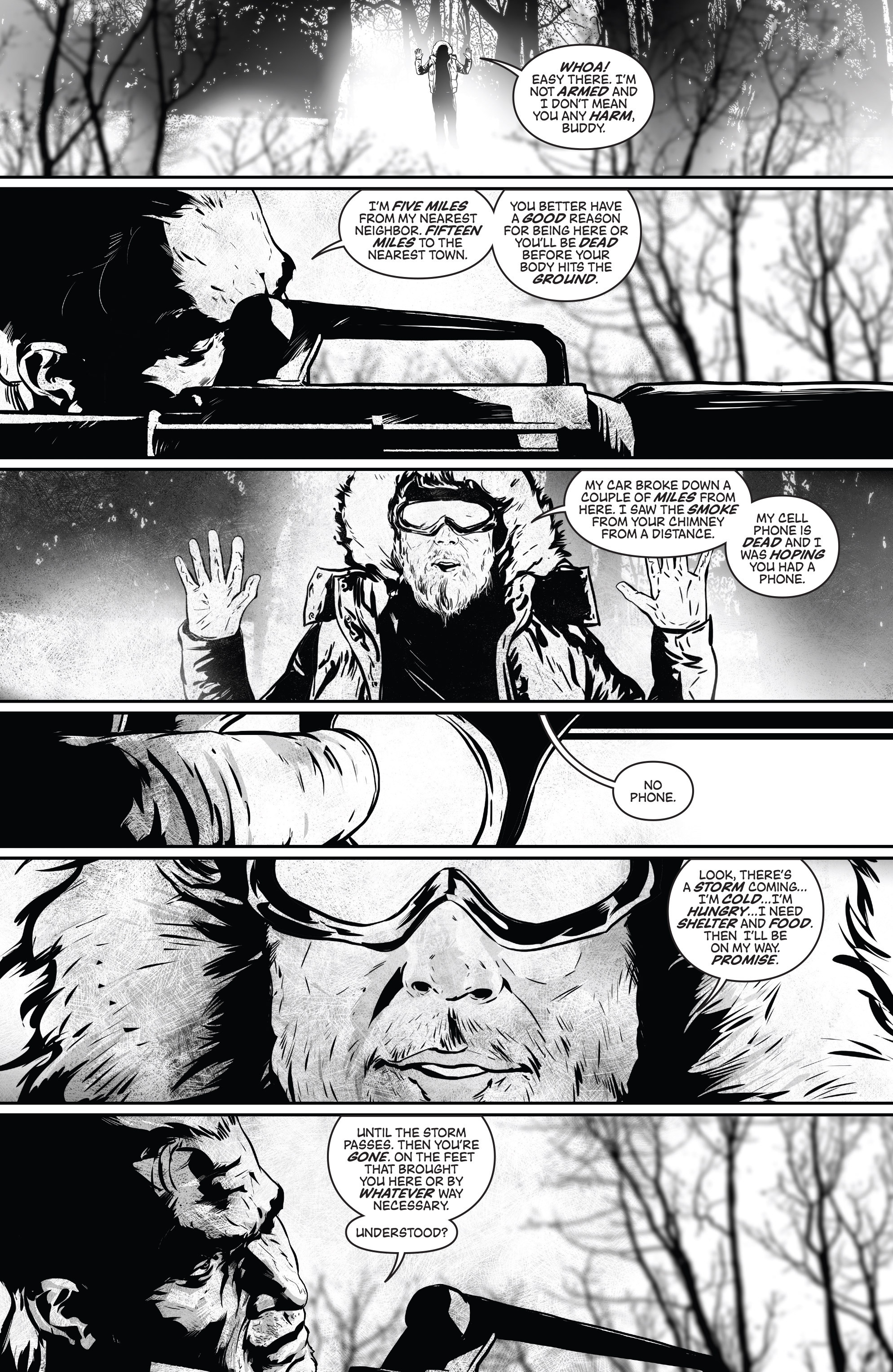 Read online Aftershock Genesis comic -  Issue #1 - 13