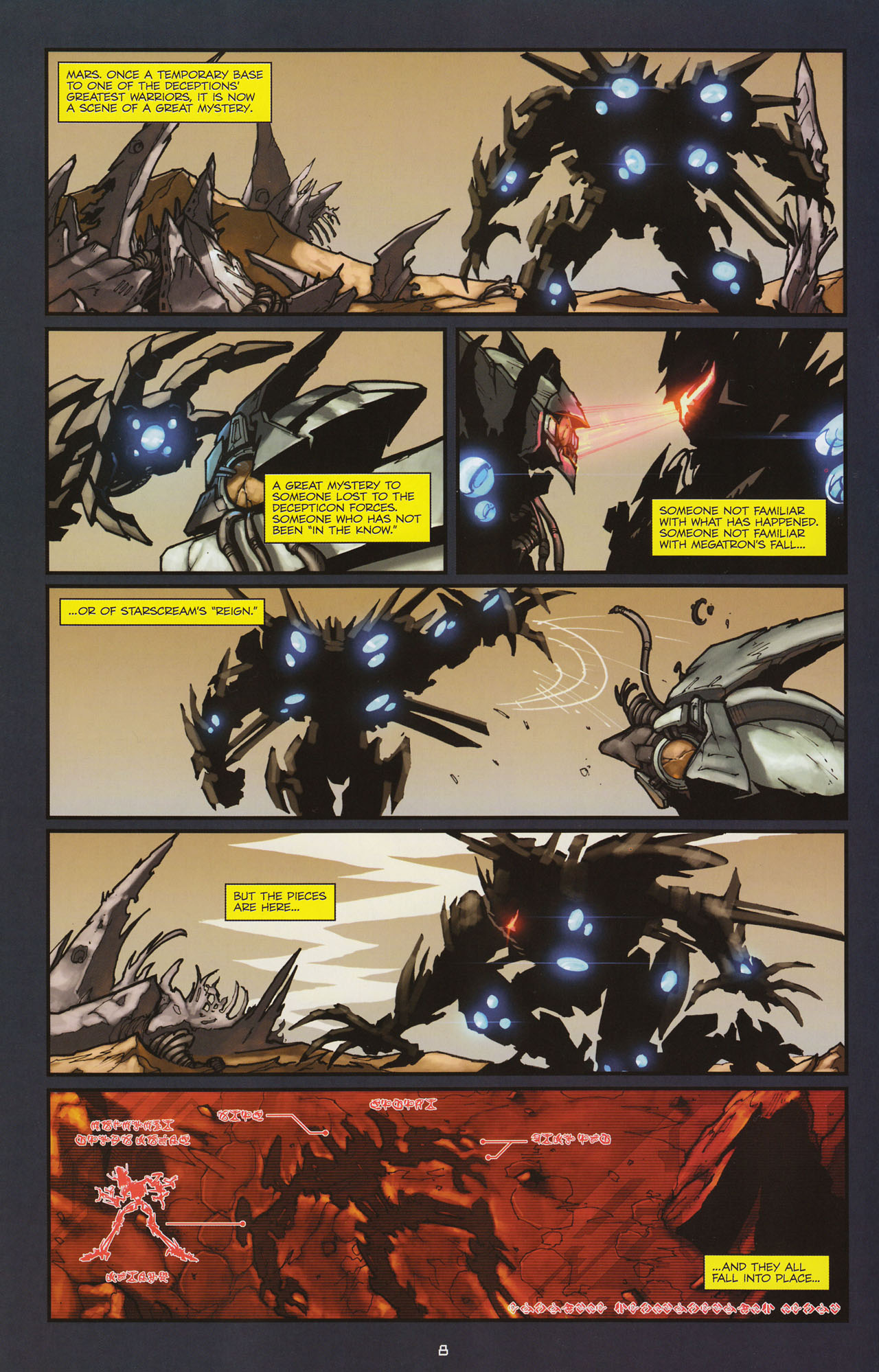 Read online Transformers: Alliance comic -  Issue #2 - 11