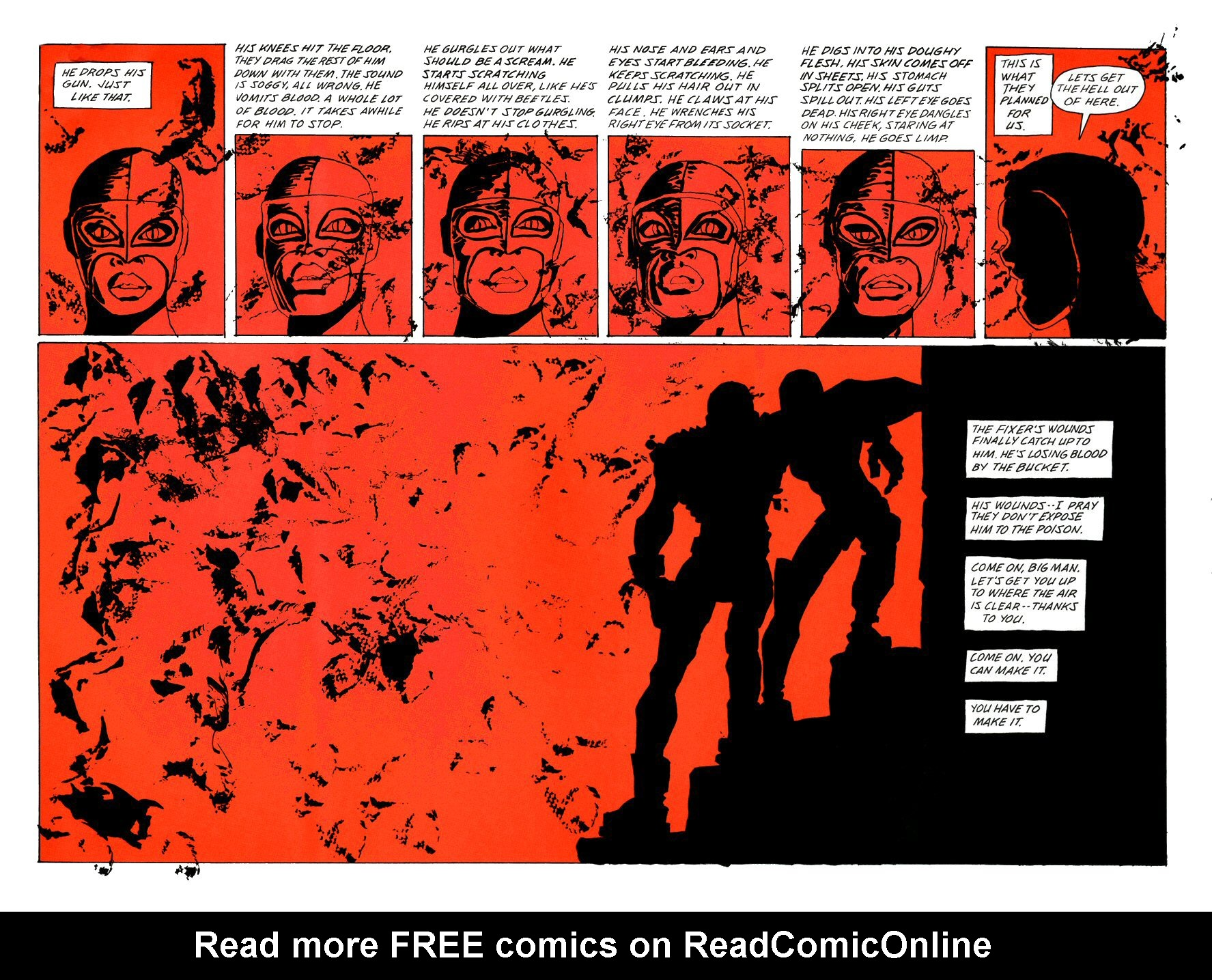 Read online Frank Miller's Holy Terror comic -  Issue # TPB - 115