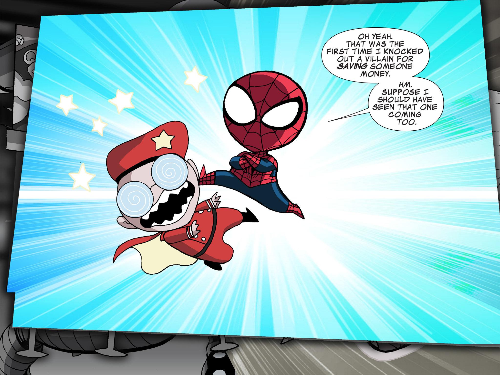 Read online Ultimate Spider-Man (Infinite Comics) (2015) comic -  Issue #21 - 12