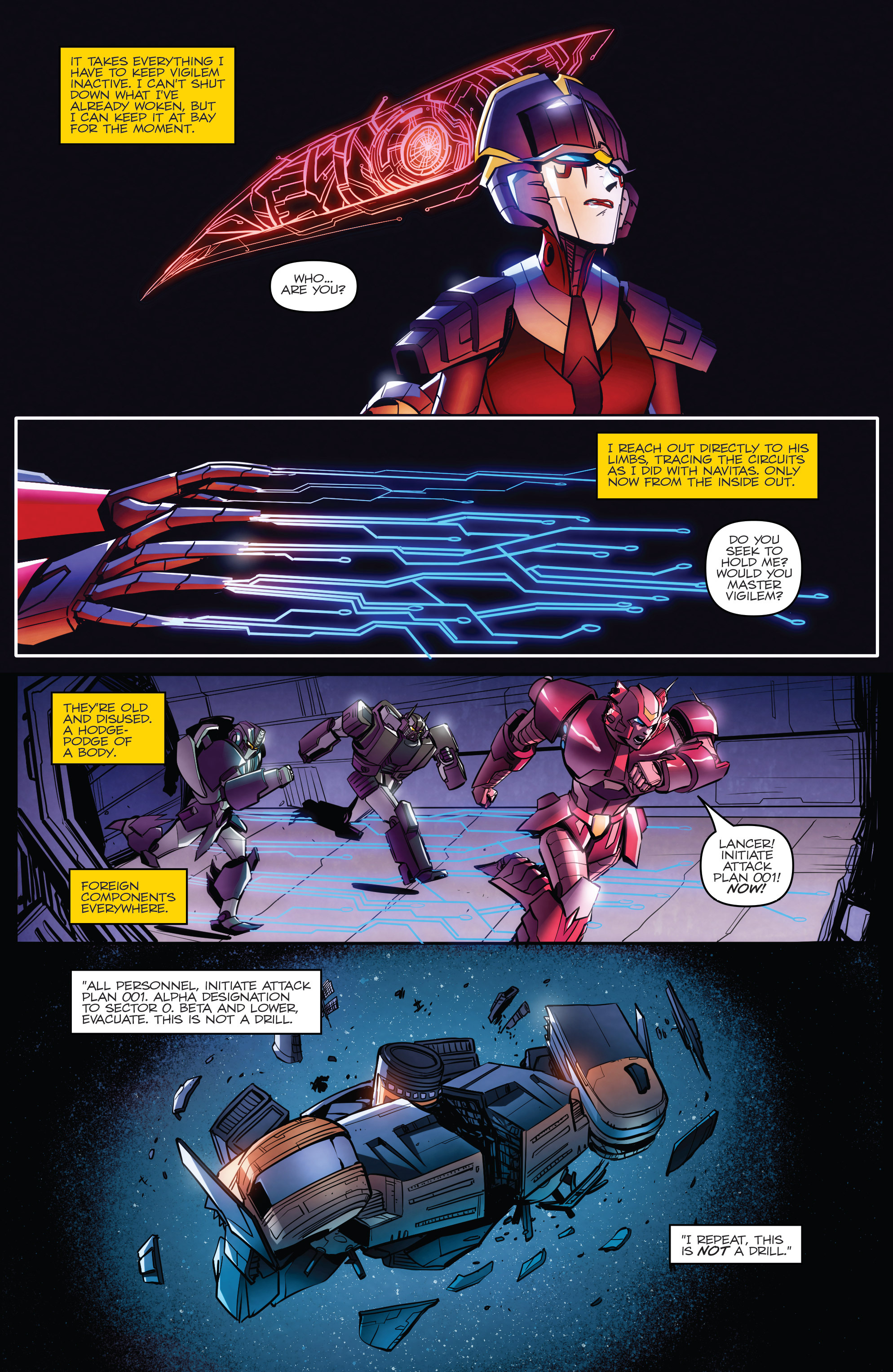 Read online Transformers: Till All Are One comic -  Issue #8 - 6