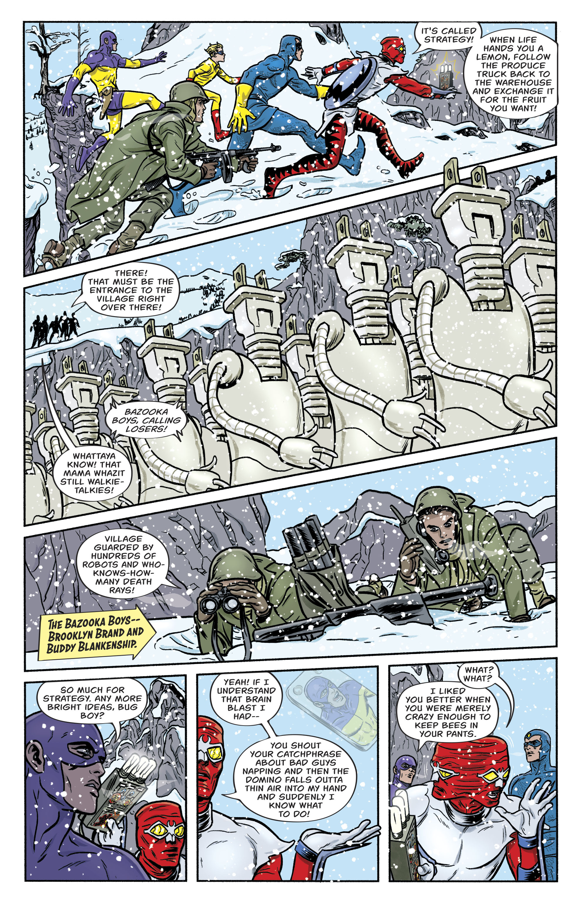Read online Bug! The Adventures of Forager comic -  Issue #2 - 13