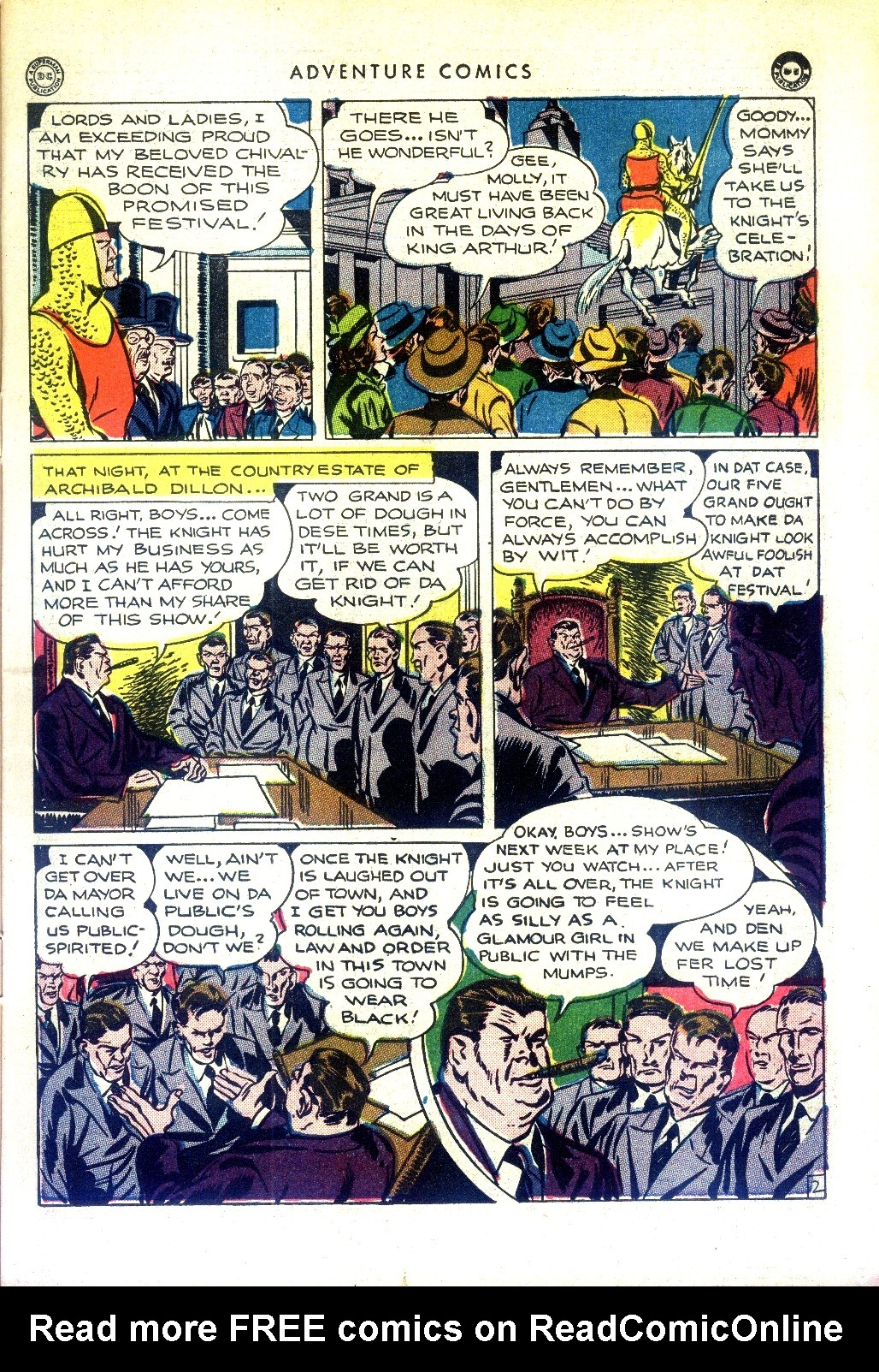 Read online Adventure Comics (1938) comic -  Issue #97 - 15