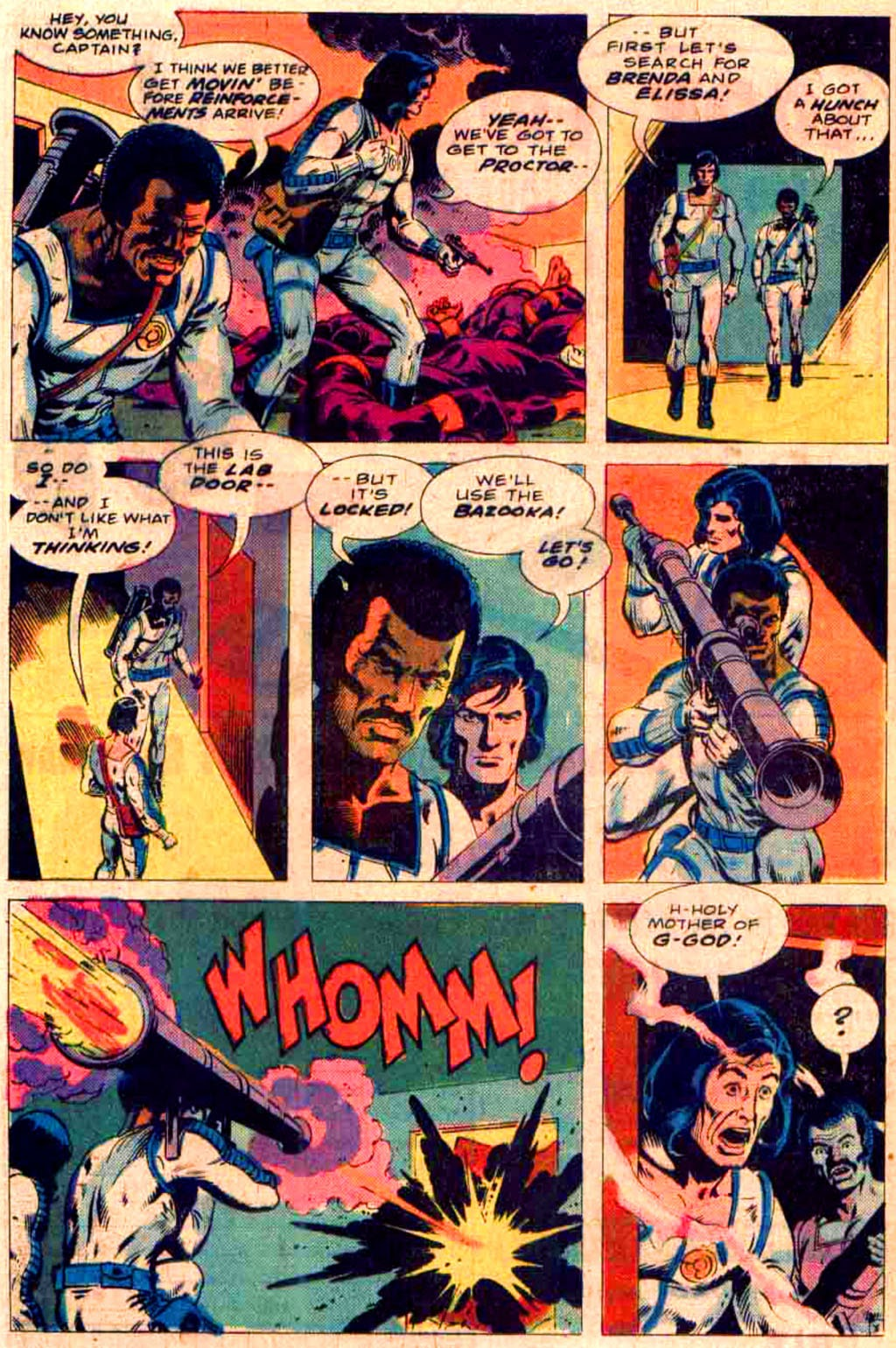 Read online Planet of Vampires comic -  Issue #3 - 8