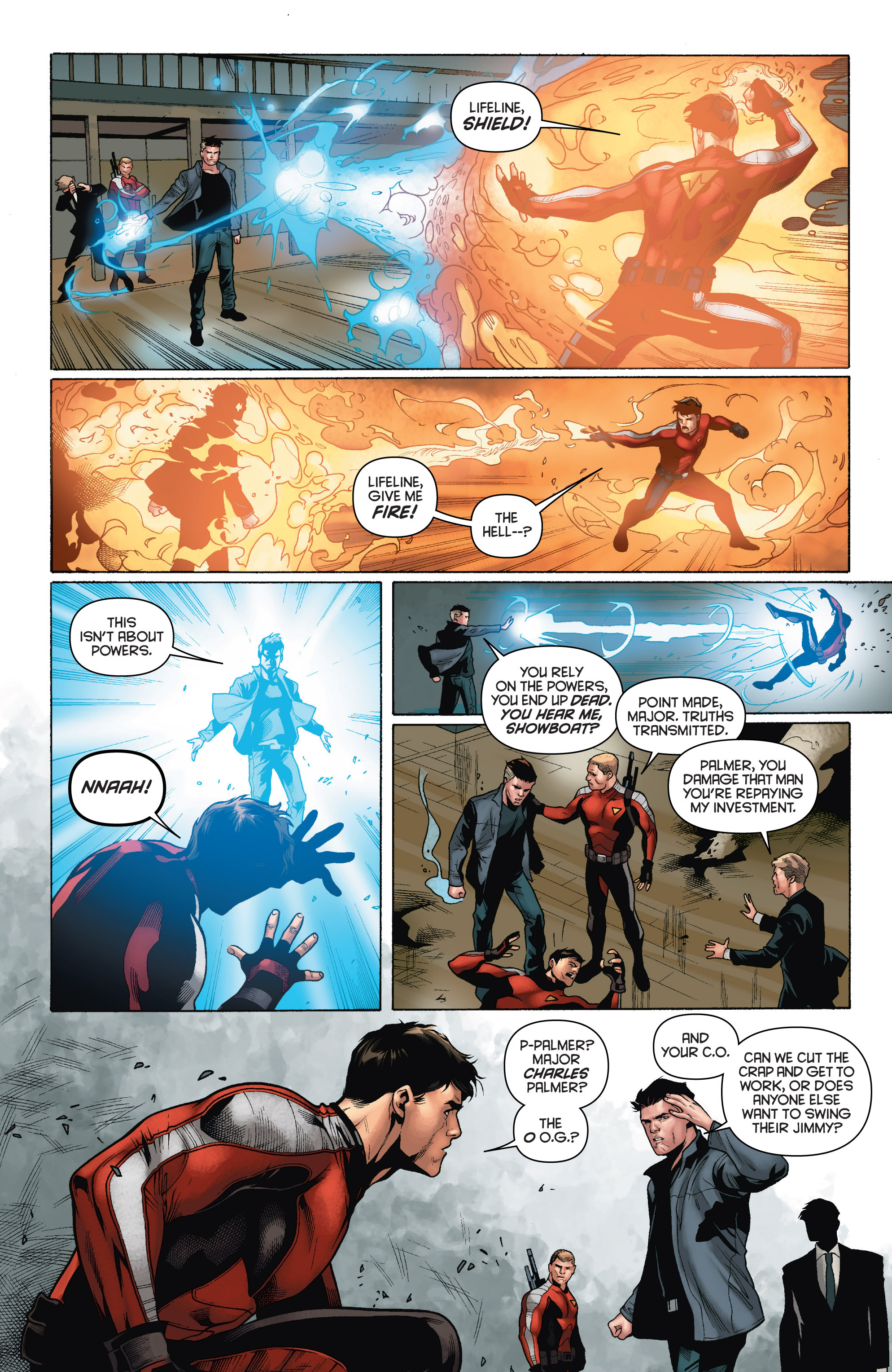 Read online Bloodshot and H.A.R.D.Corps comic -  Issue # TPB 4 - 22