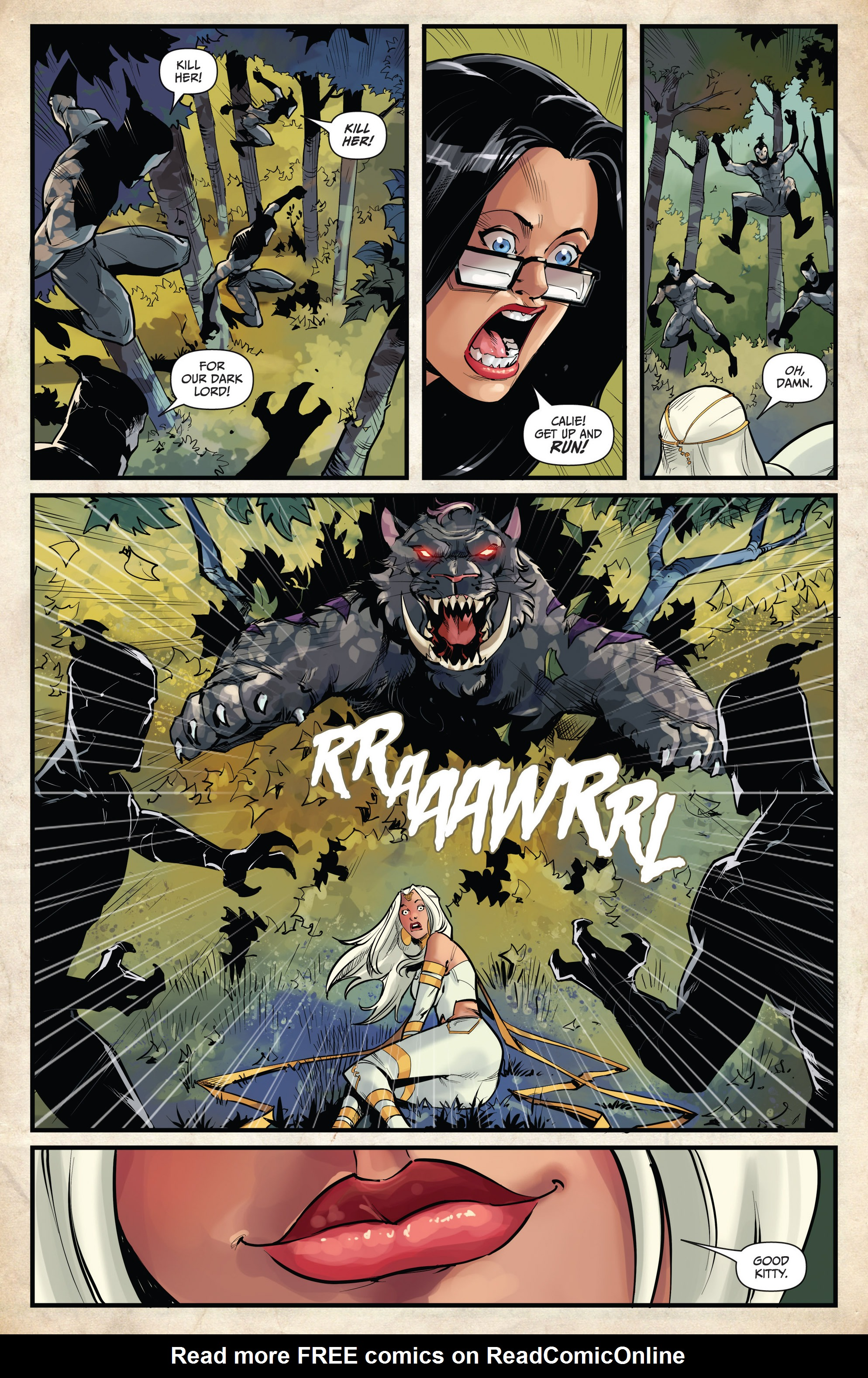 Read online Grimm Fairy Tales vs. Wonderland comic -  Issue #4 - 13