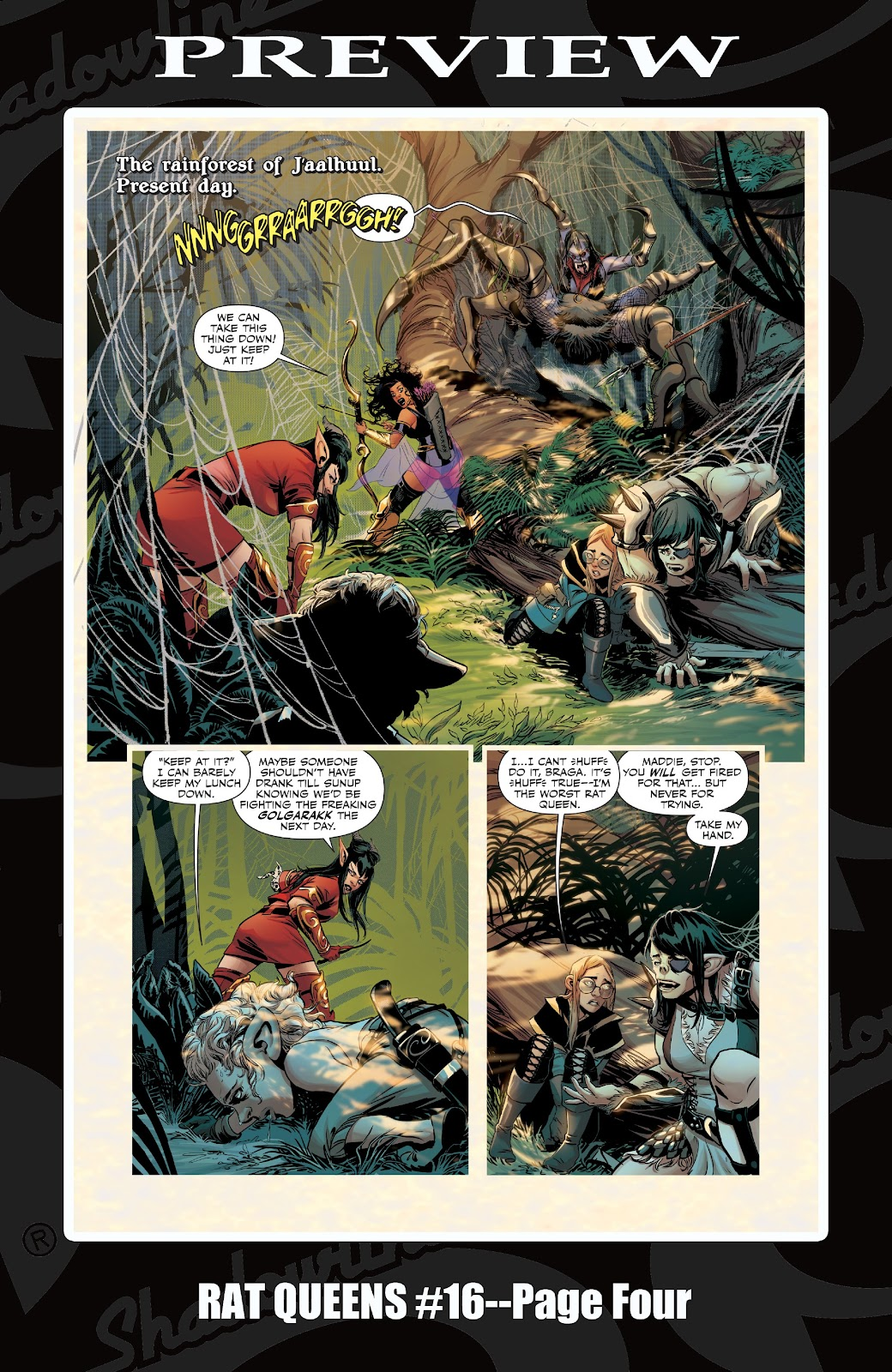 Read online Rat Queens Special: Swamp Romp comic -  Issue # Full - 27