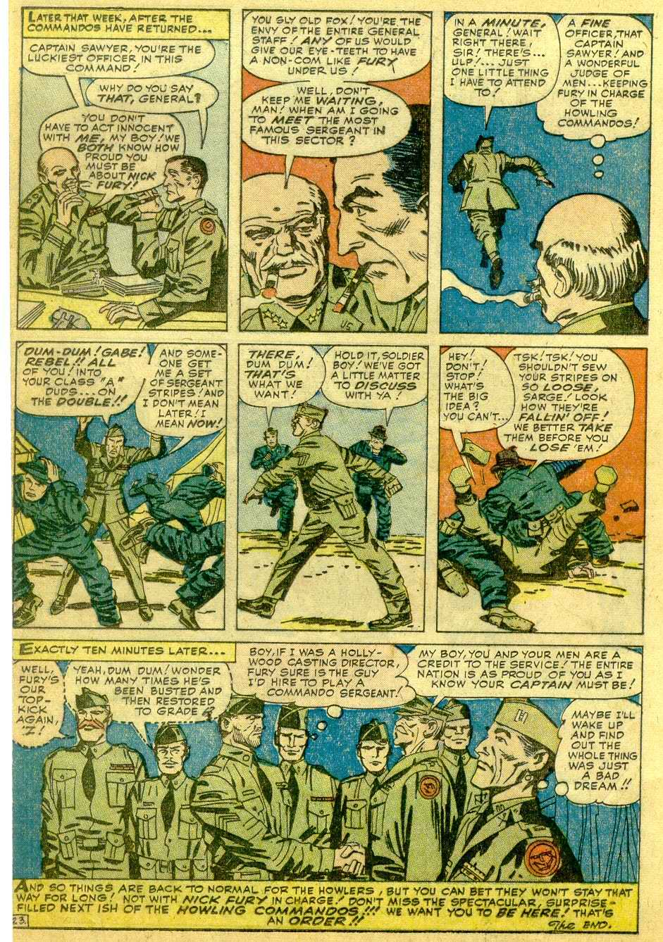 Read online Sgt. Fury comic -  Issue # _Annual 1 - 70