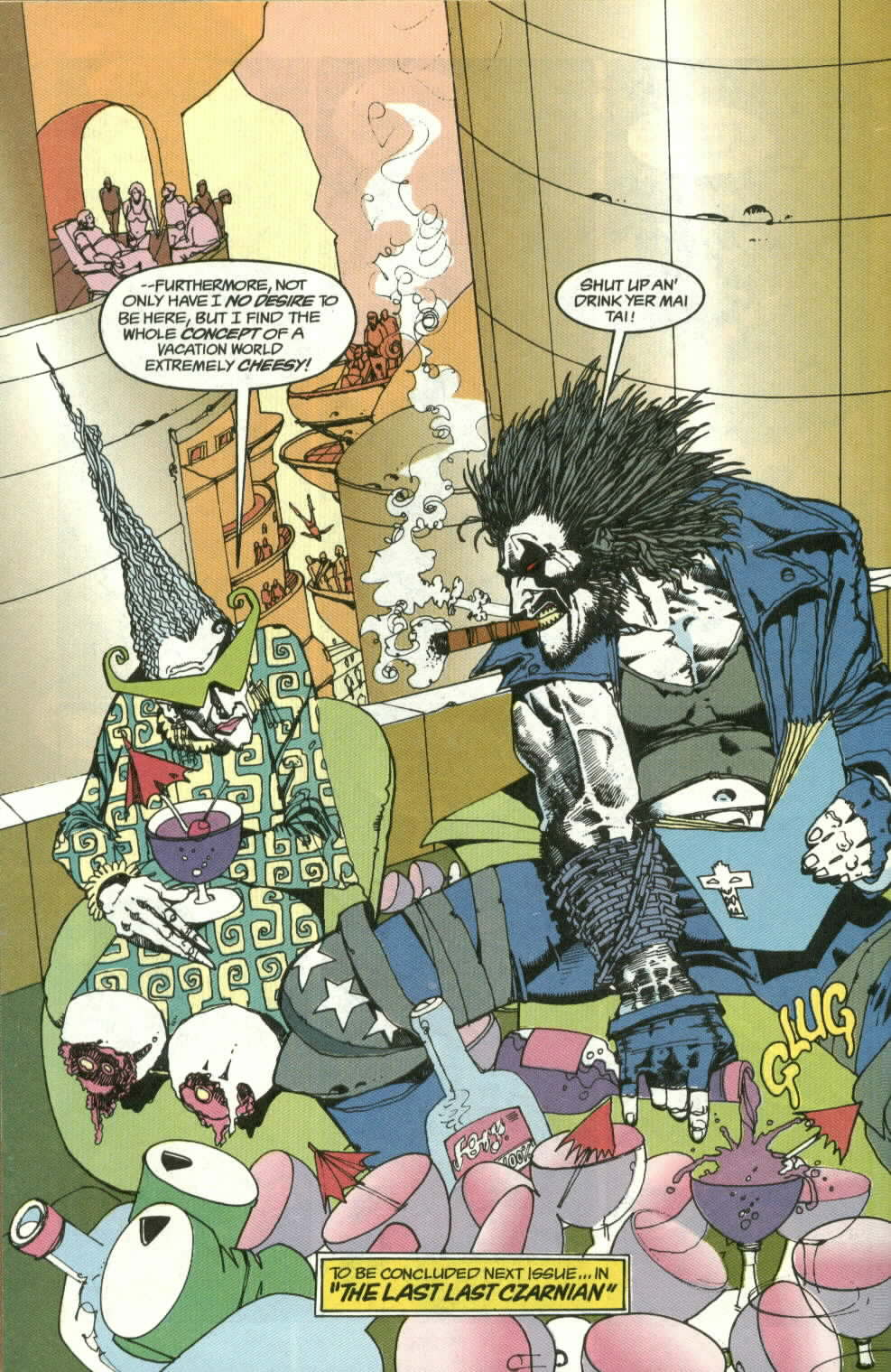 Read online Lobo (1990) comic -  Issue #3 - 25