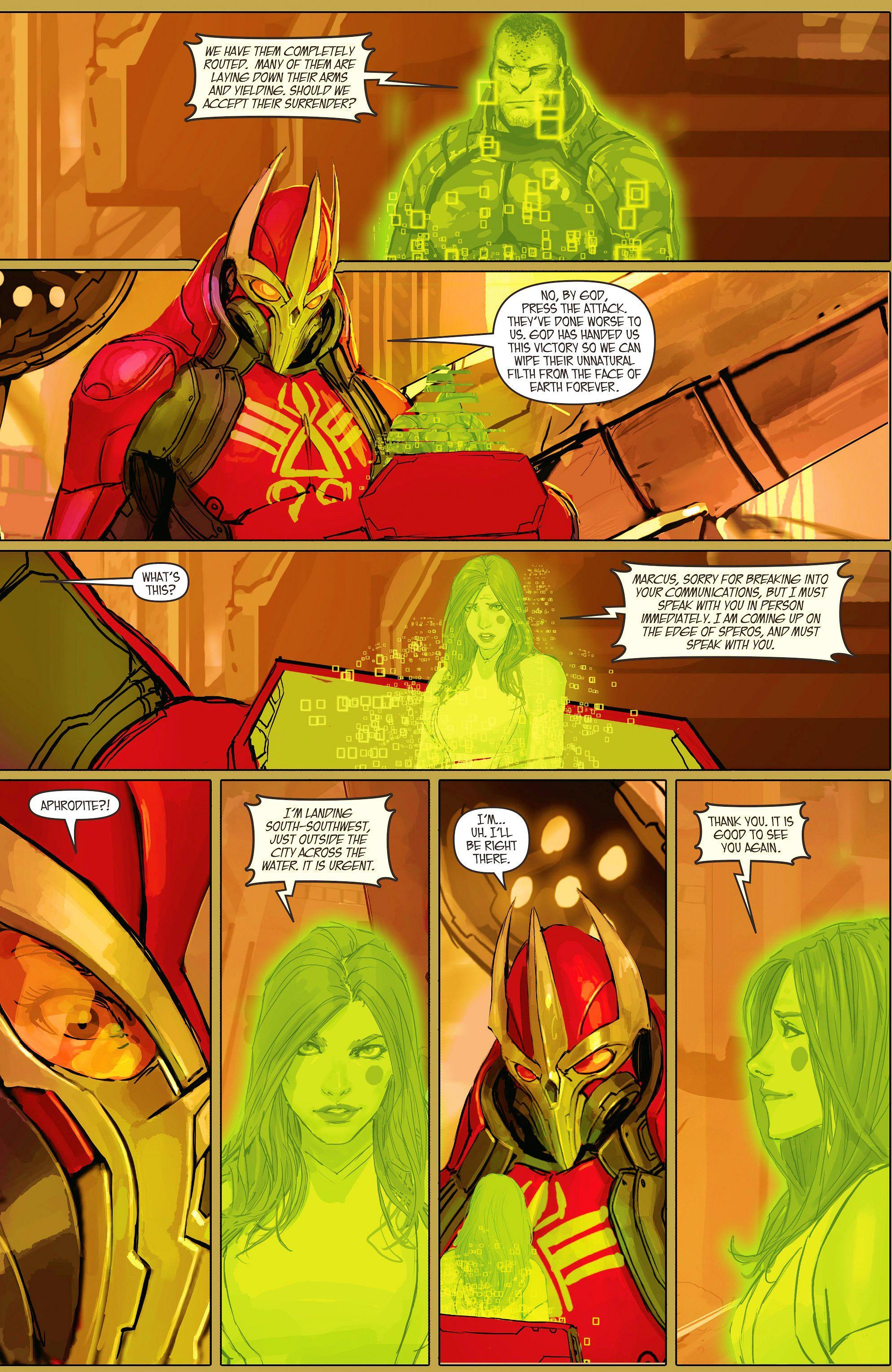 Read online Aphrodite IX (2013) comic -  Issue #11 - 16