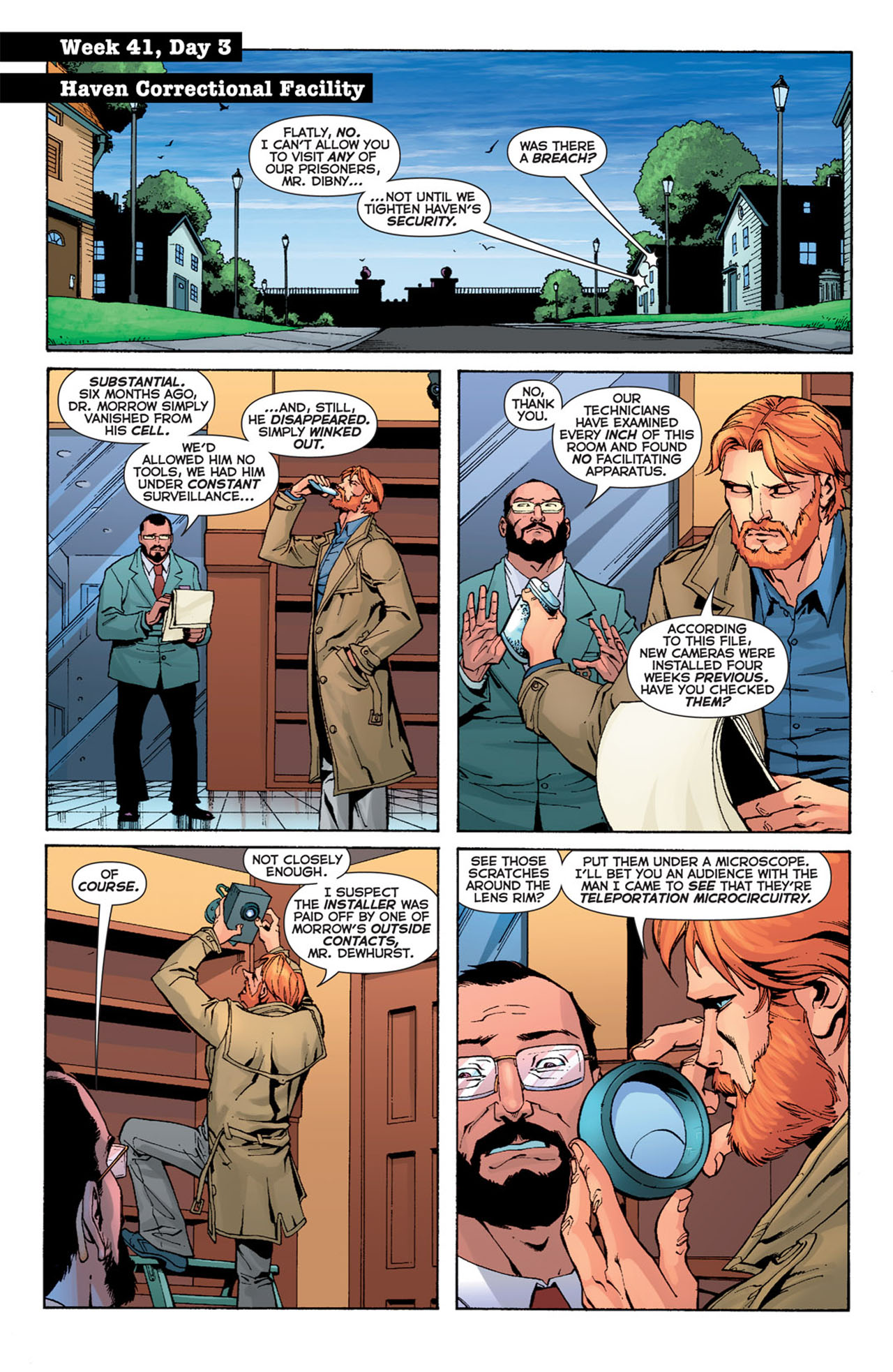 Read online 52 comic -  Issue #41 - 10