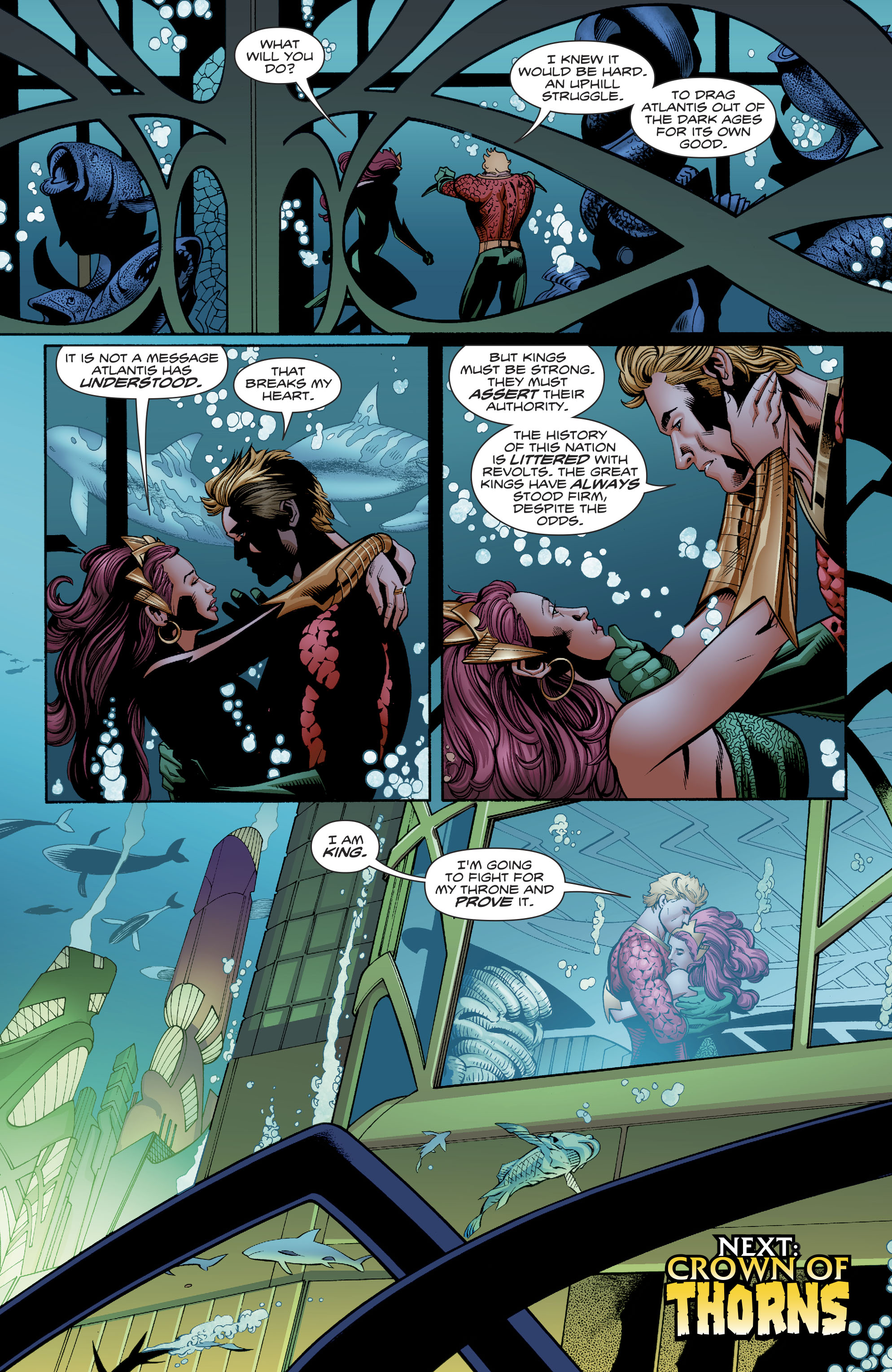 Read online Aquaman (2016) comic -  Issue #23 - 22