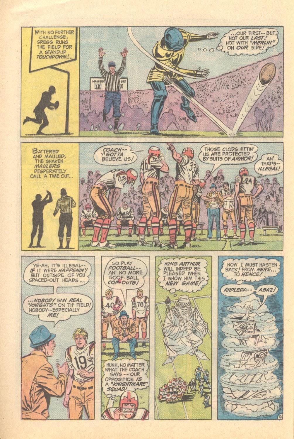 Read online Strange Sports Stories (1973) comic -  Issue #3 - 10