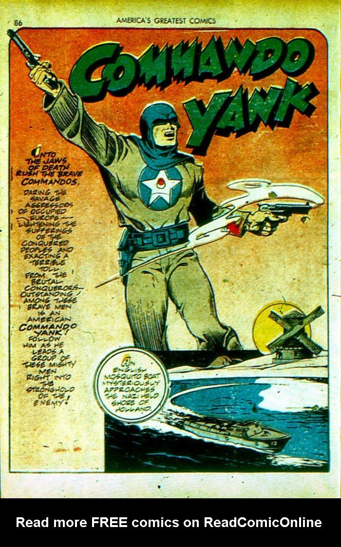 Read online America's Greatest Comics comic -  Issue #4 - 87