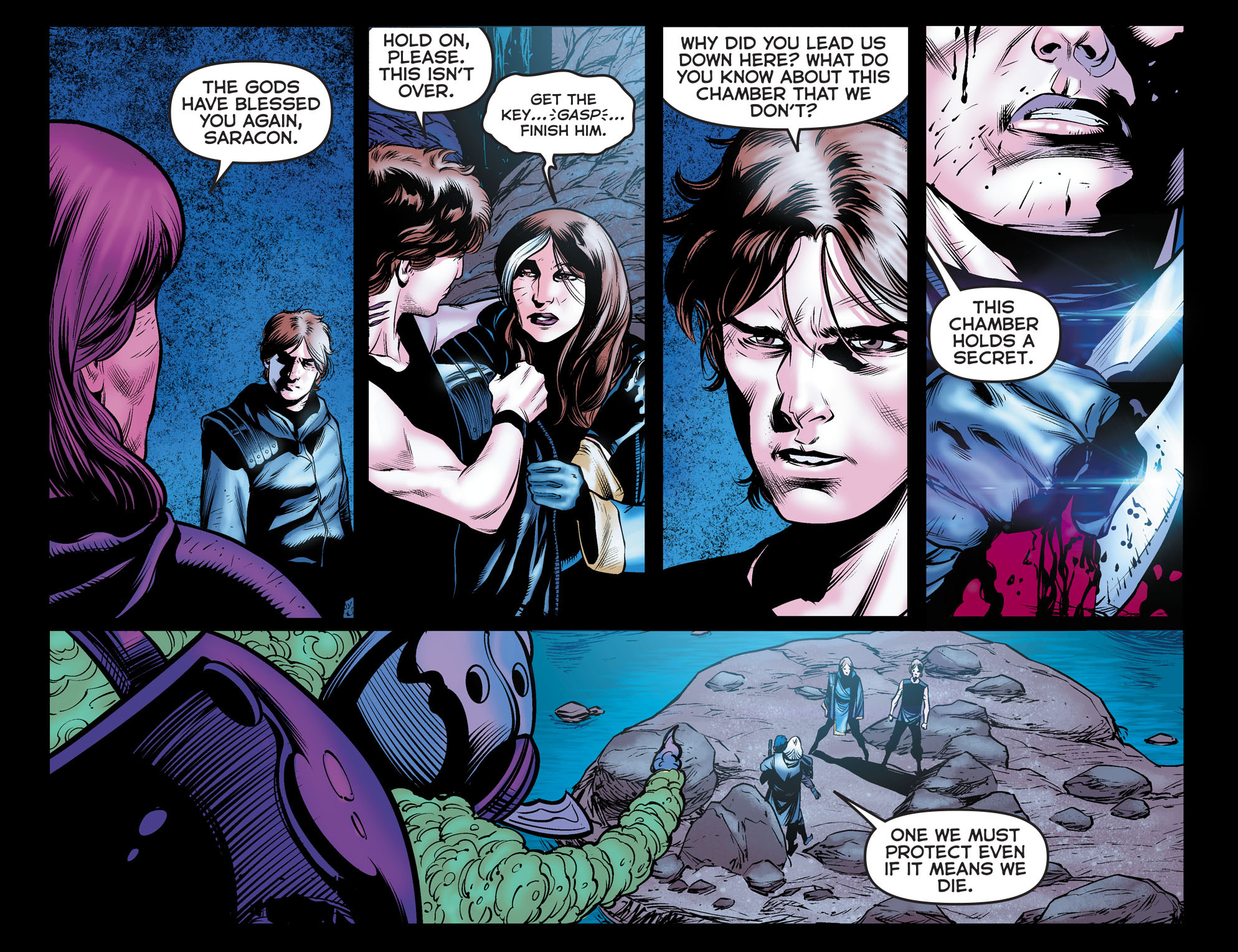 Read online Arrow: The Dark Archer comic -  Issue #11 - 10