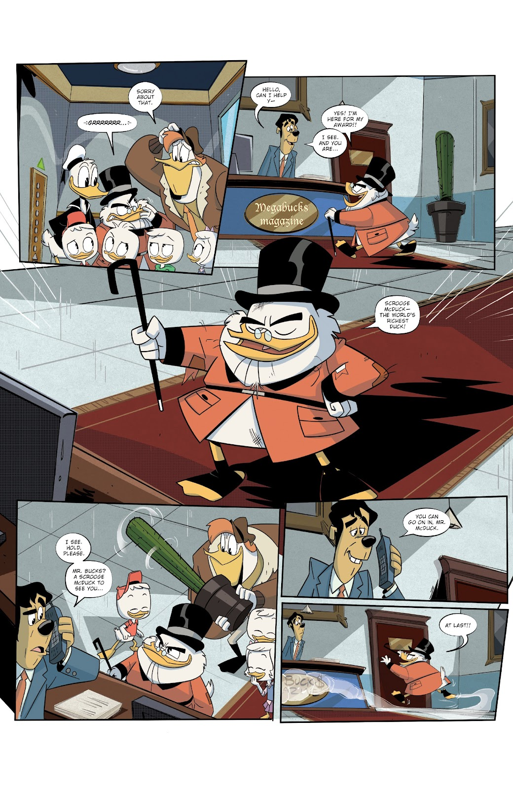 Read online Ducktales (2017) comic -  Issue #19 - 20