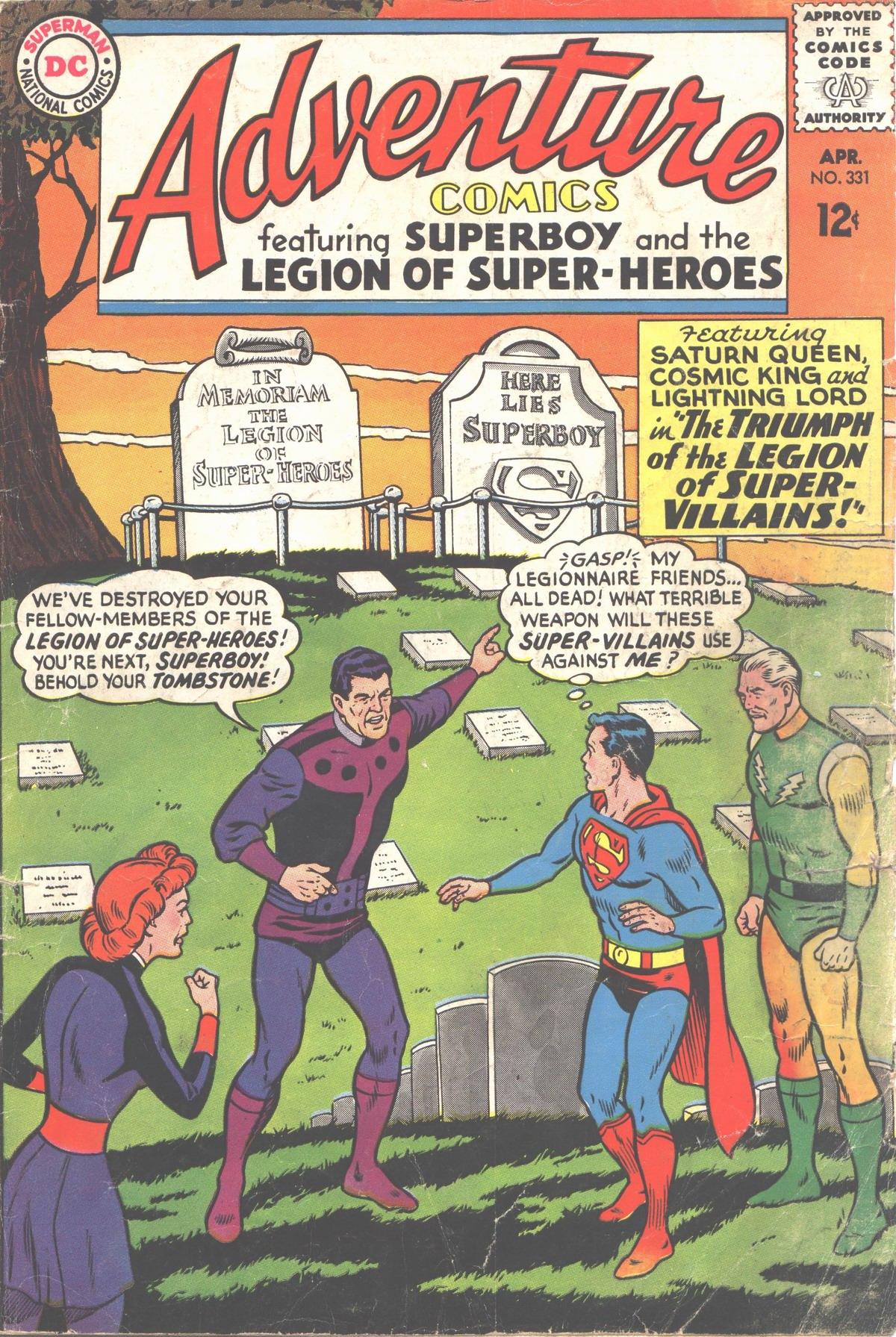 Read online Adventure Comics (1938) comic -  Issue #331 - 1