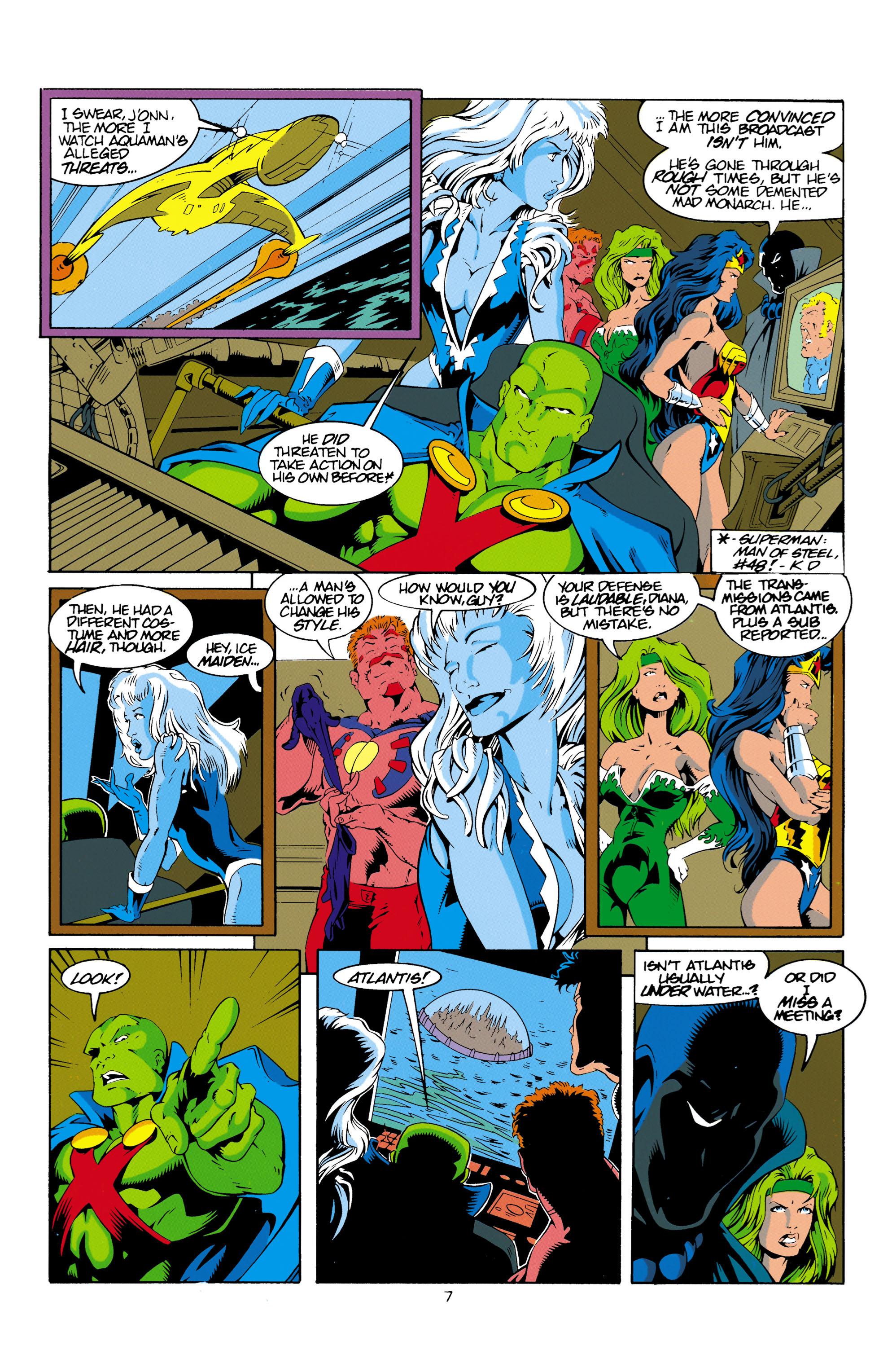 Read online Aquaman (1994) comic -  Issue #16 - 8