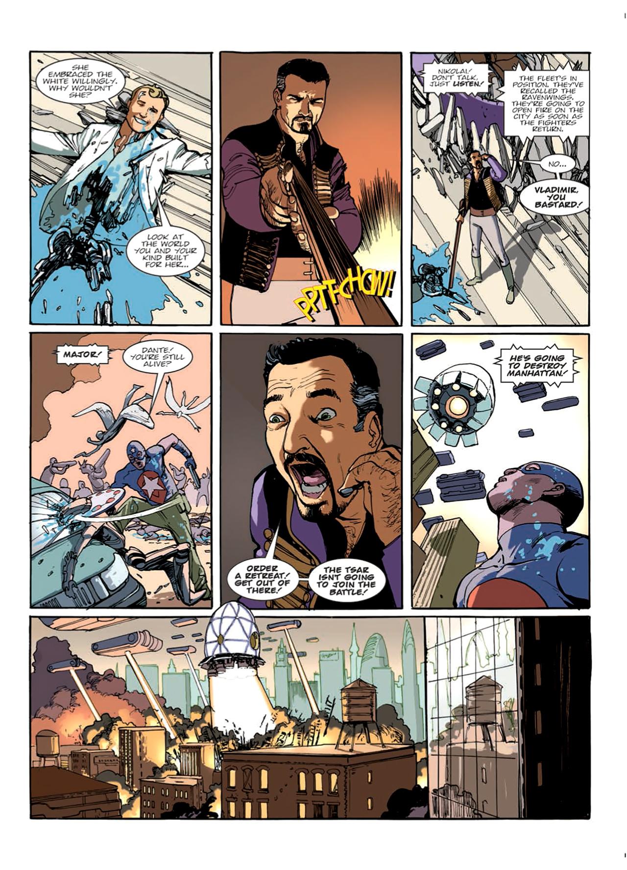 Read online Nikolai Dante comic -  Issue # TPB 9 - 64