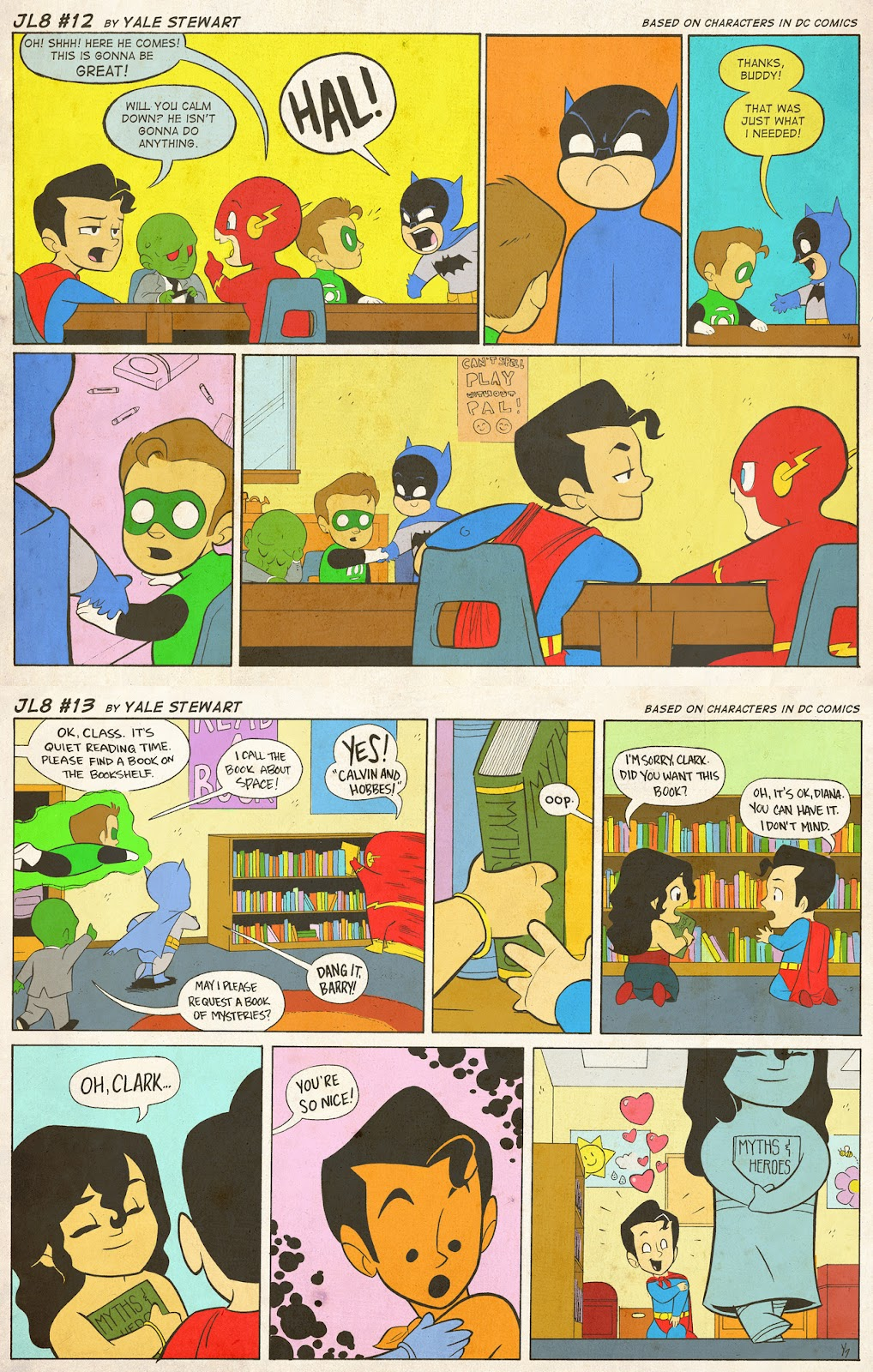 Read online JL8 – The Complete Collection comic -  Issue # TPB (Part 1) - 6