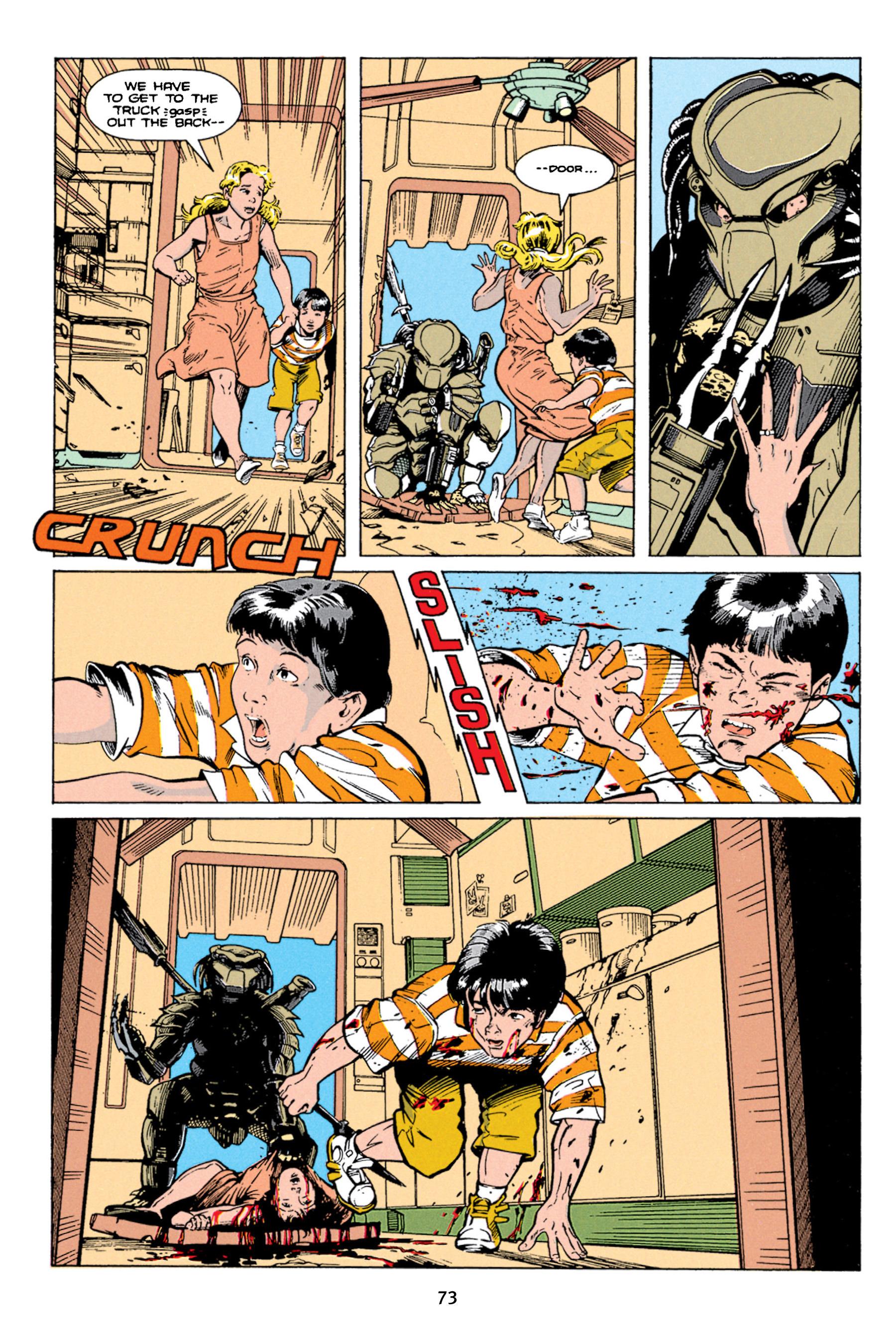 Read online Aliens vs. Predator Omnibus comic -  Issue # _TPB 1 Part 1 - 73