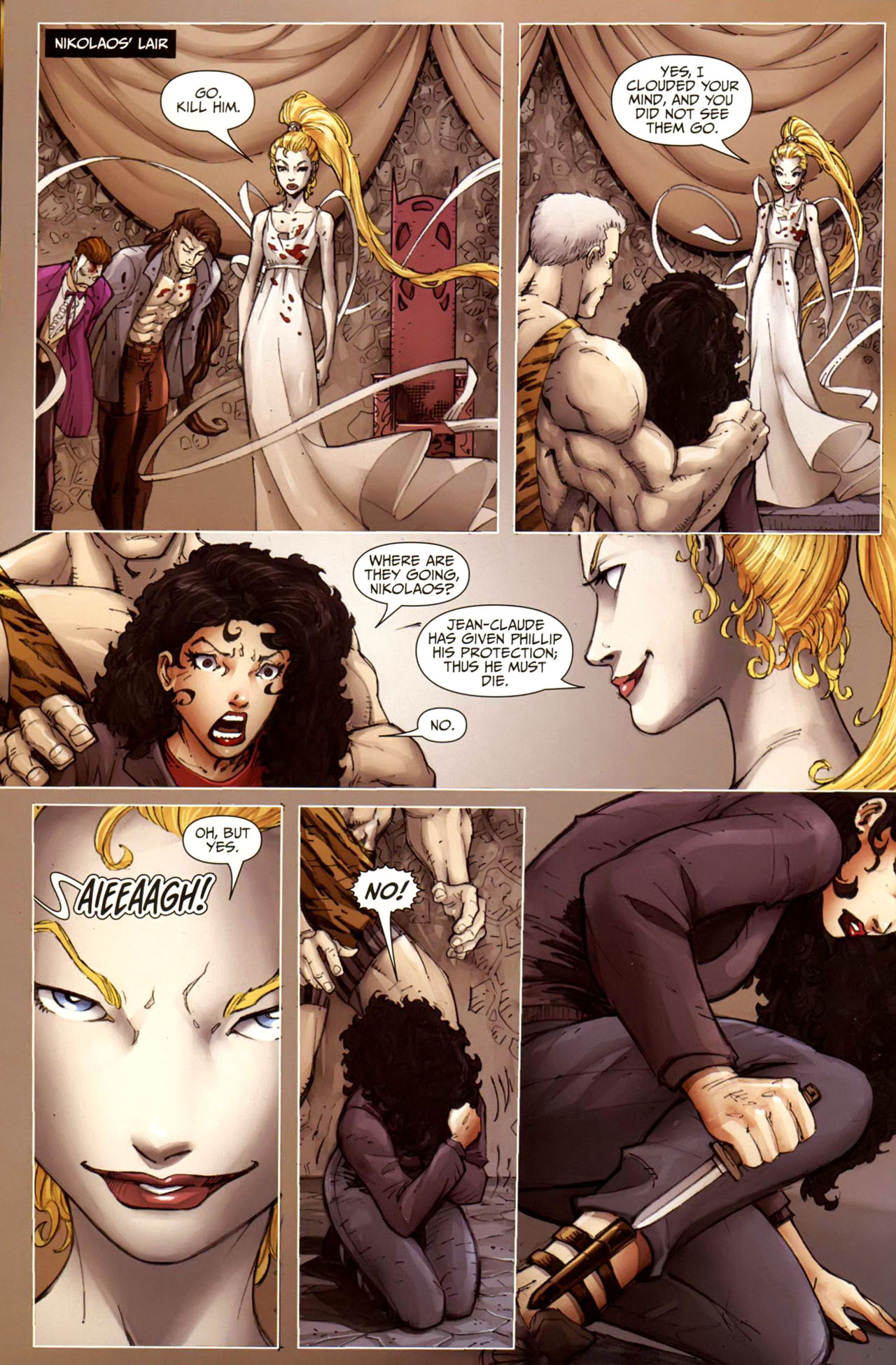 Read online Anita Blake, Vampire Hunter: Guilty Pleasures comic -  Issue #10 - 3