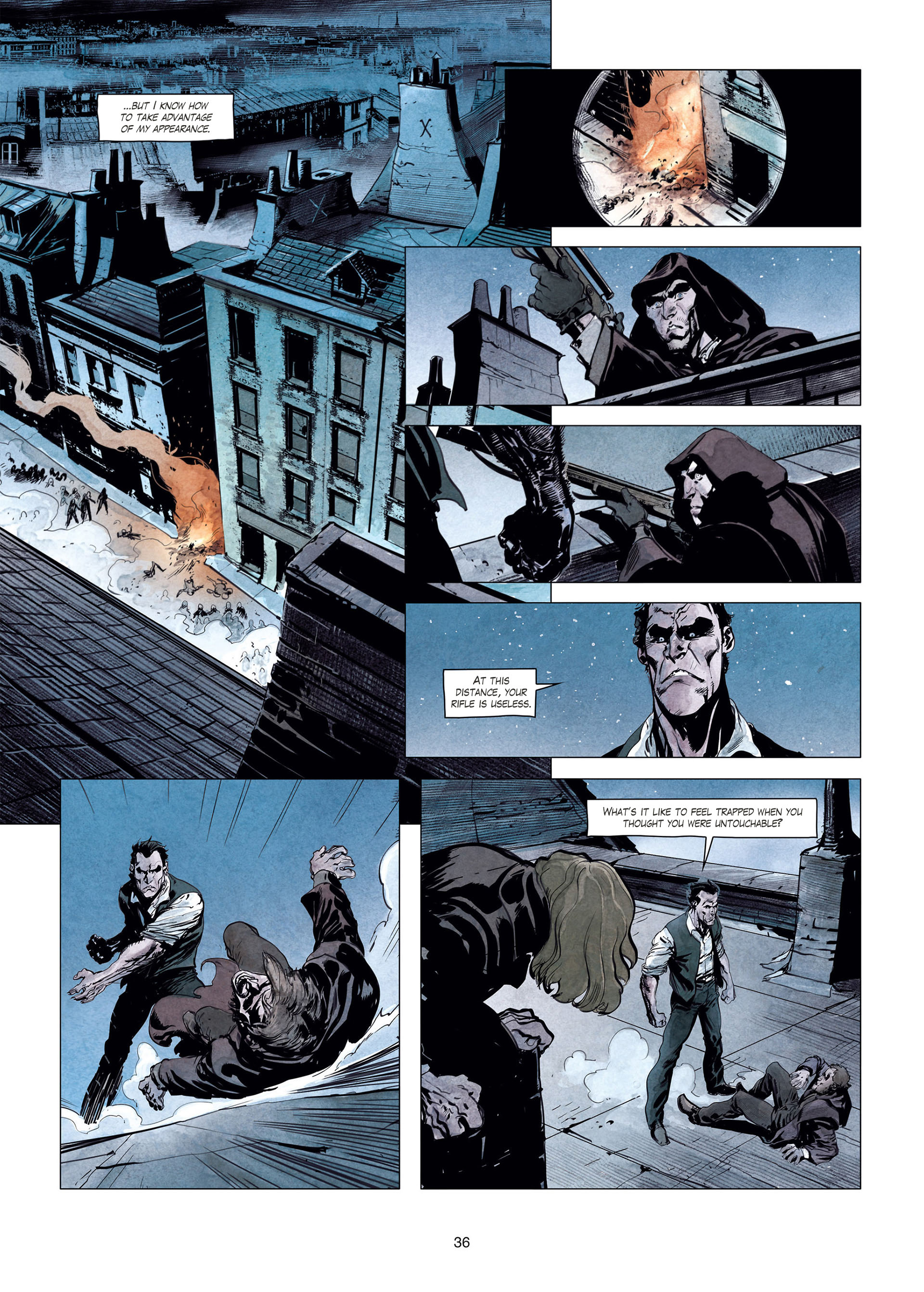 Read online Sherlock Holmes Society Tome 4 : Contamination comic -  Issue # Full - 36