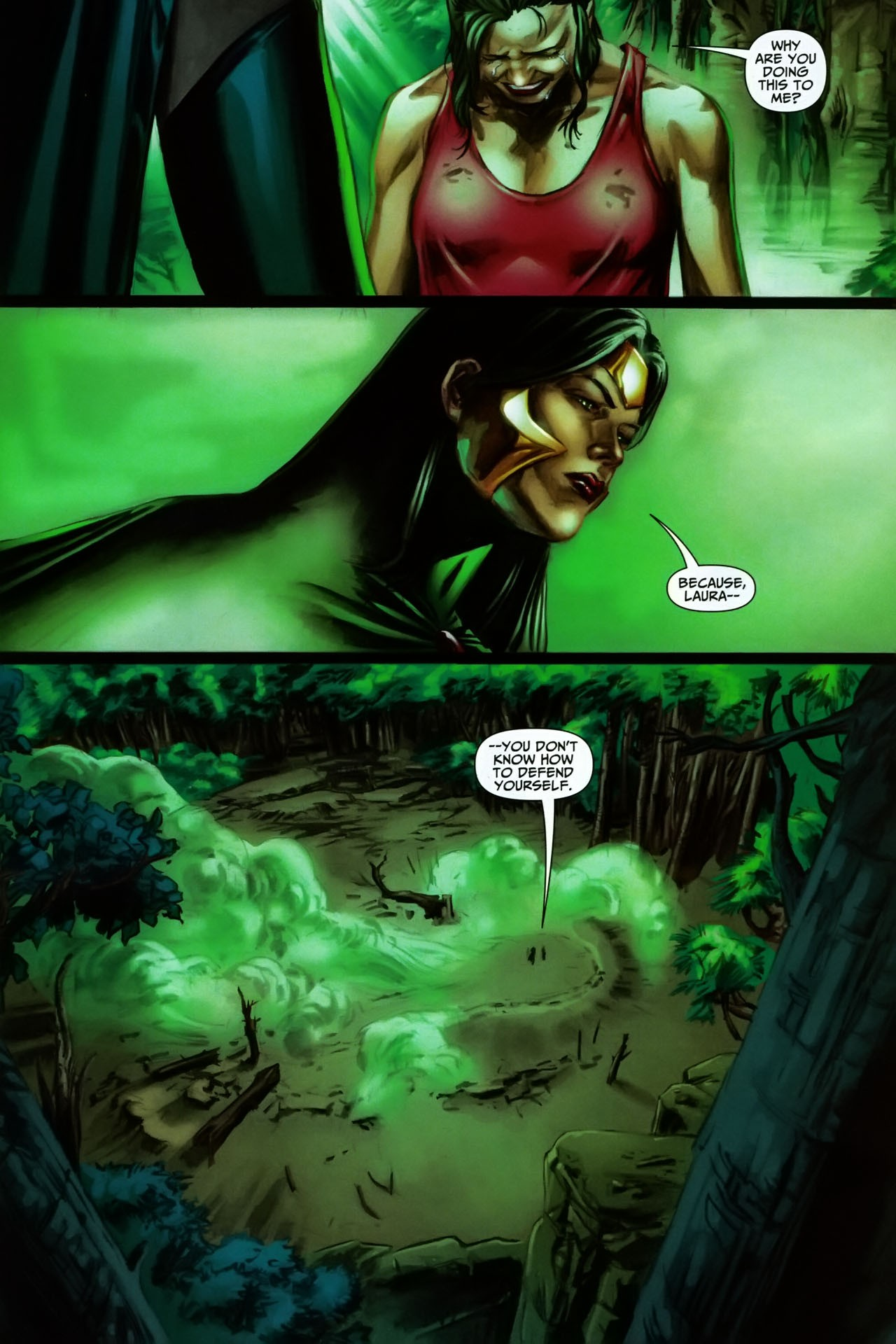 Read online Shadowpact comic -  Issue #17 - 22