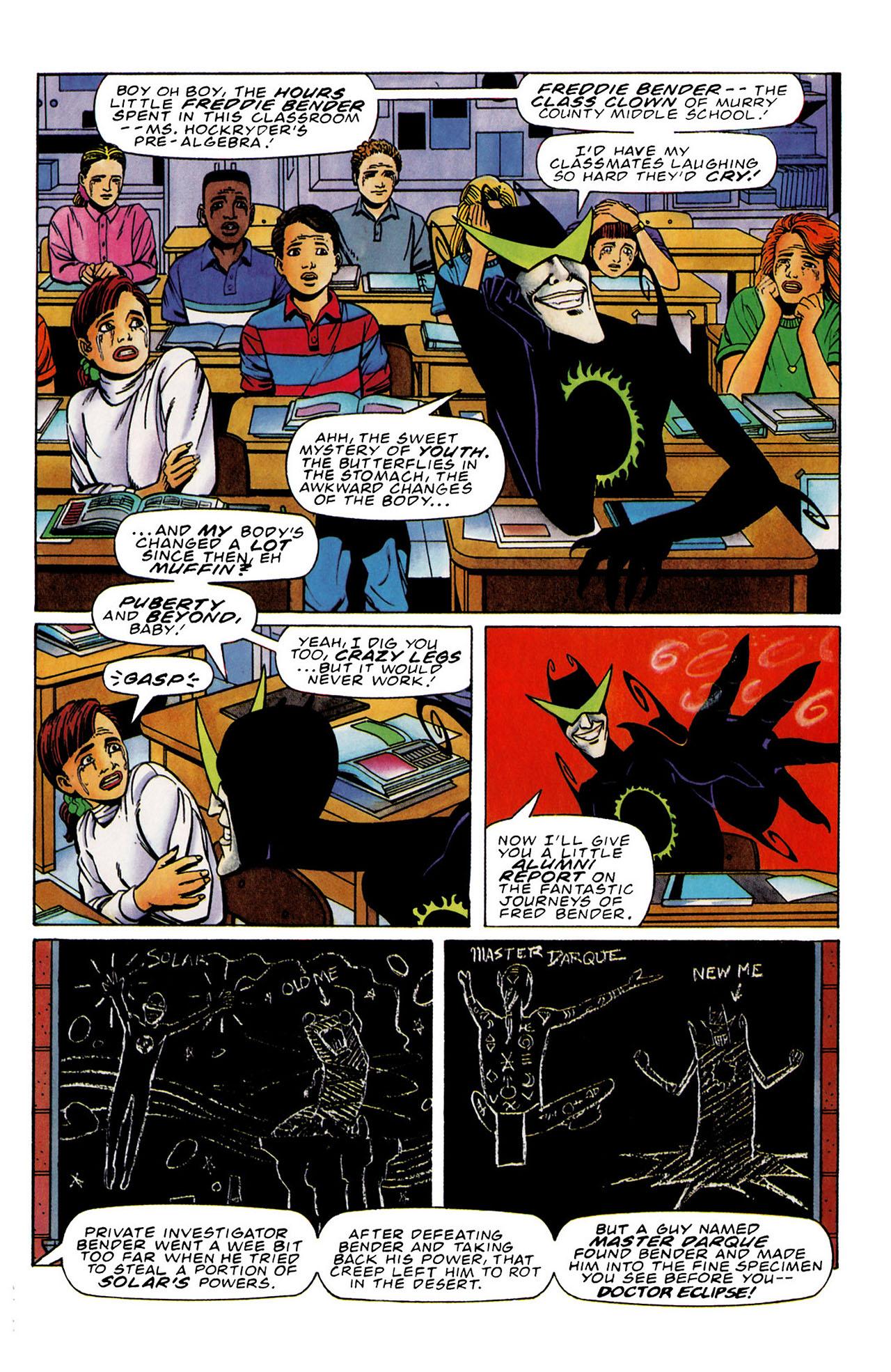 Read online Harbinger (1992) comic -  Issue #33 - 7