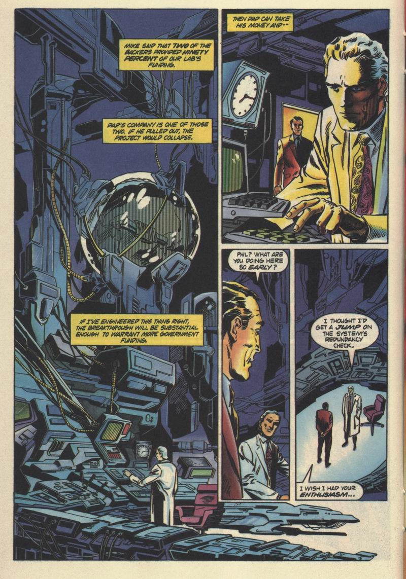 Read online Solar, Man of the Atom comic -  Issue #32 - 11