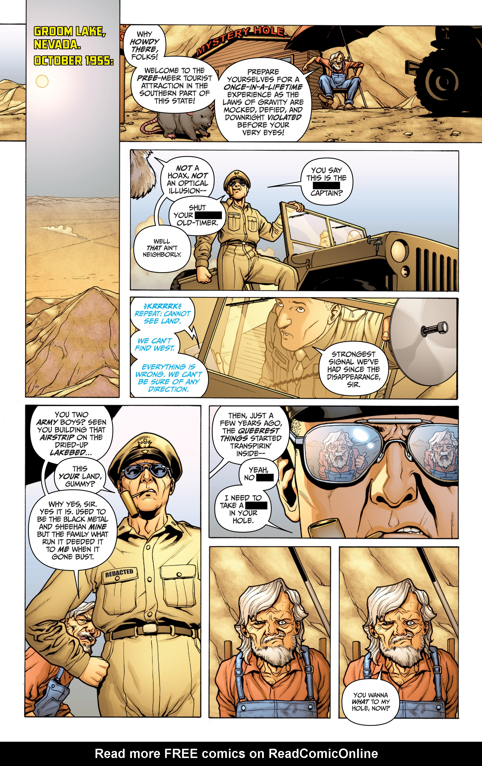 Read online Archer and Armstrong comic -  Issue #Archer and Armstrong _TPB 3 - 28