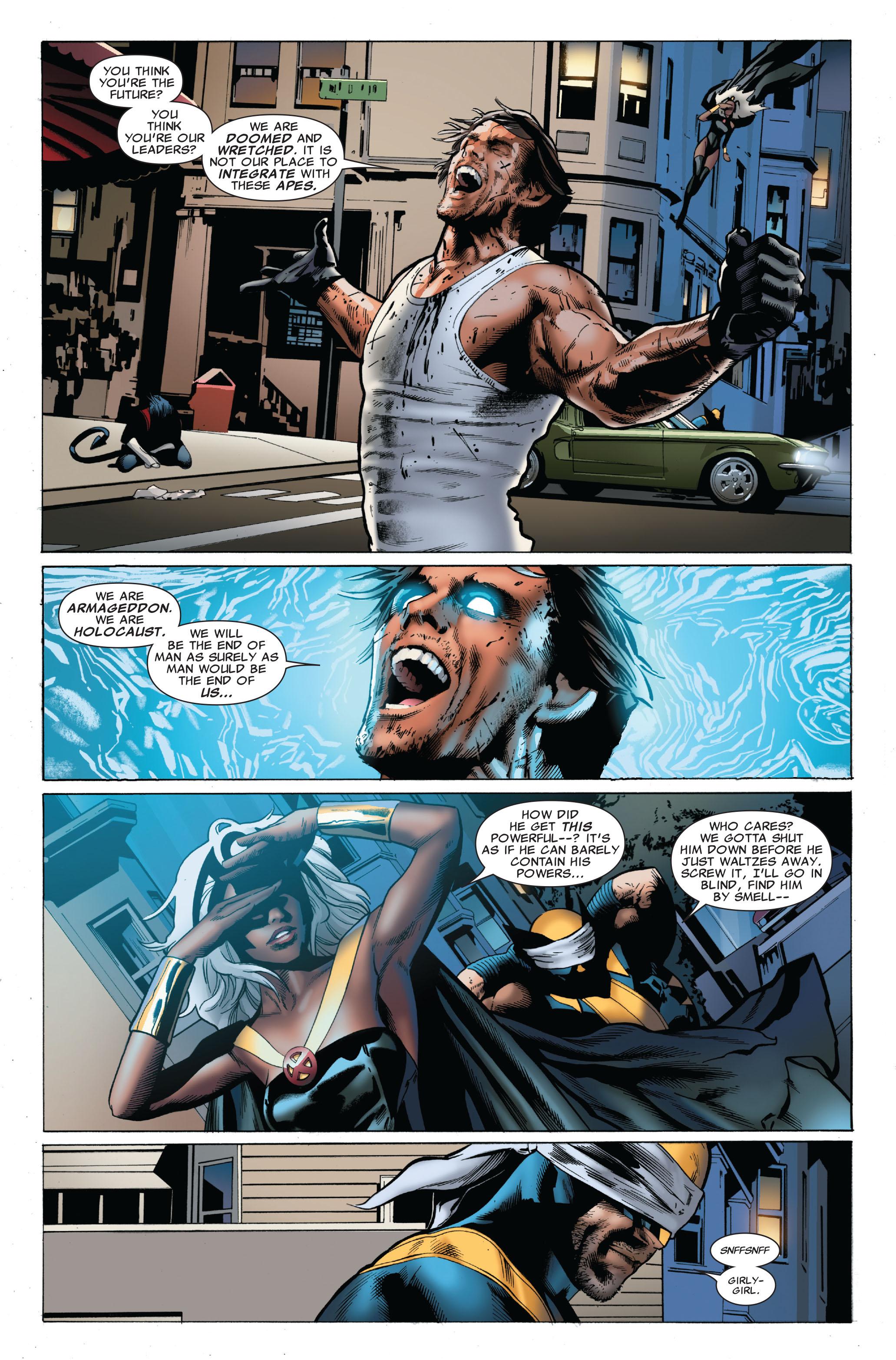 Read online Uncanny X-Men (1963) comic -  Issue #503 - 17