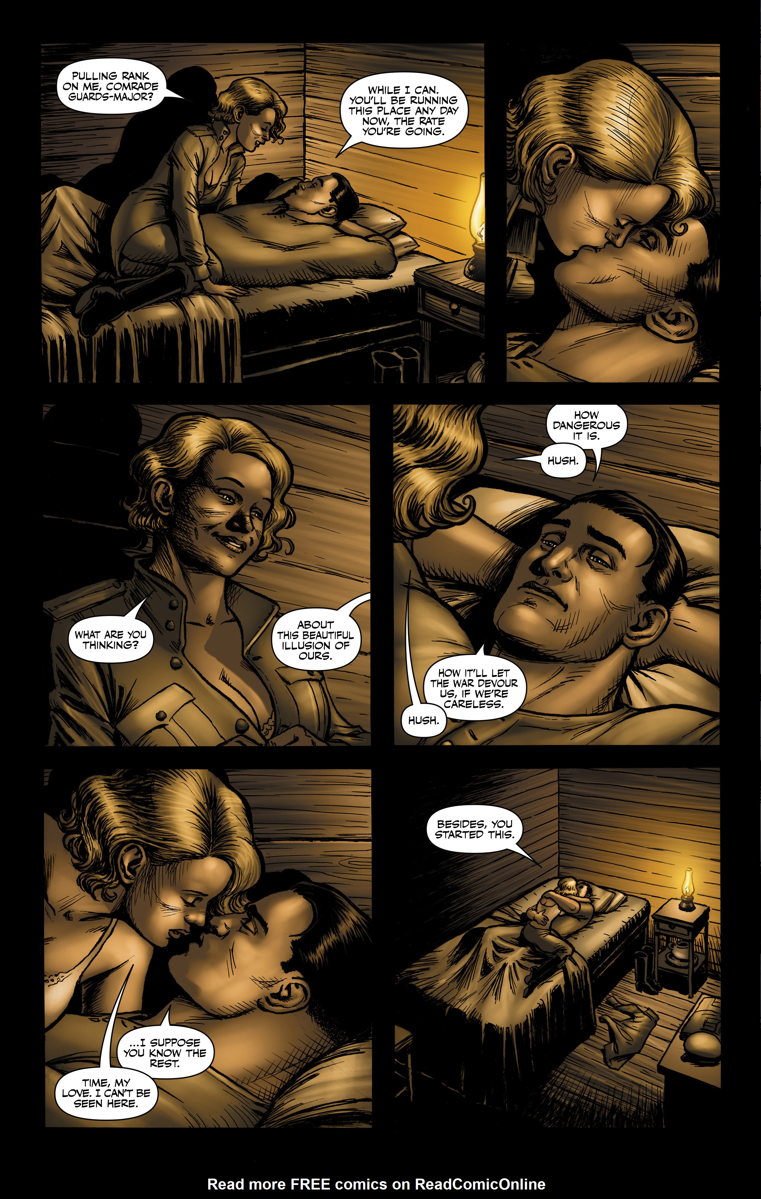 Read online Battlefields: Night Witches comic -  Issue # TPB - 52