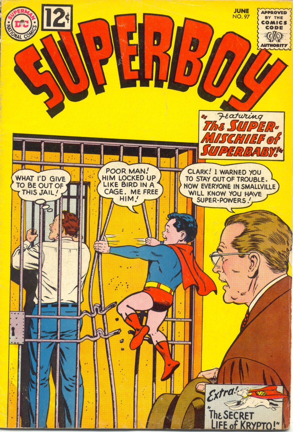 Superboy (1949) issue 97 - Page 1