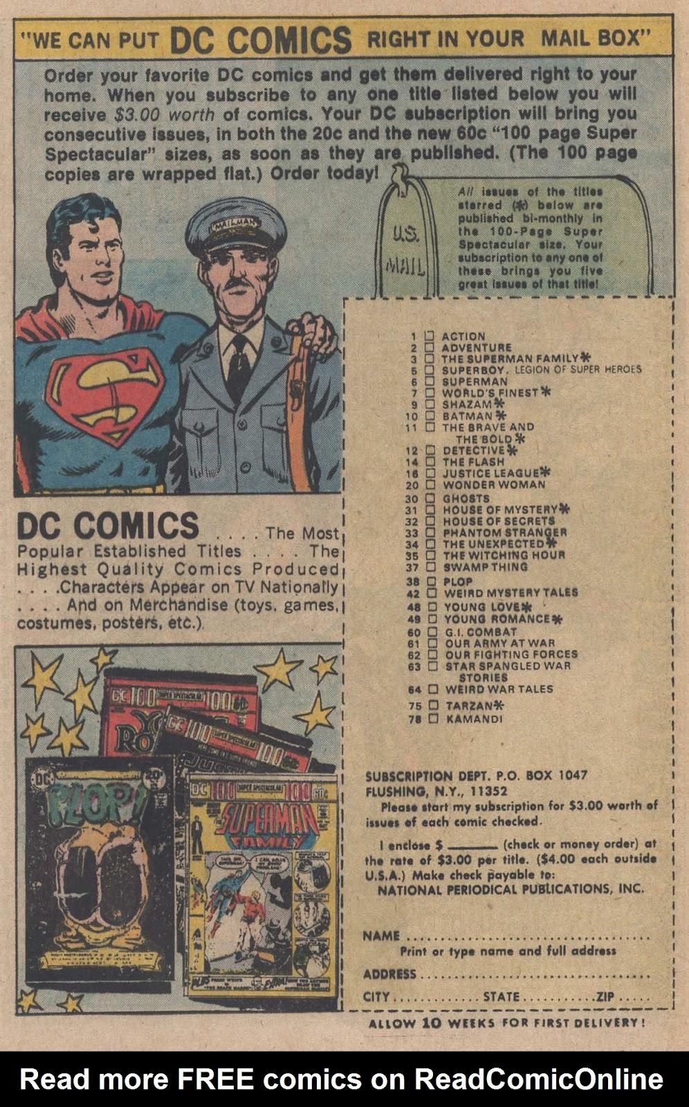 Read online Strange Sports Stories (1973) comic -  Issue #5 - 23