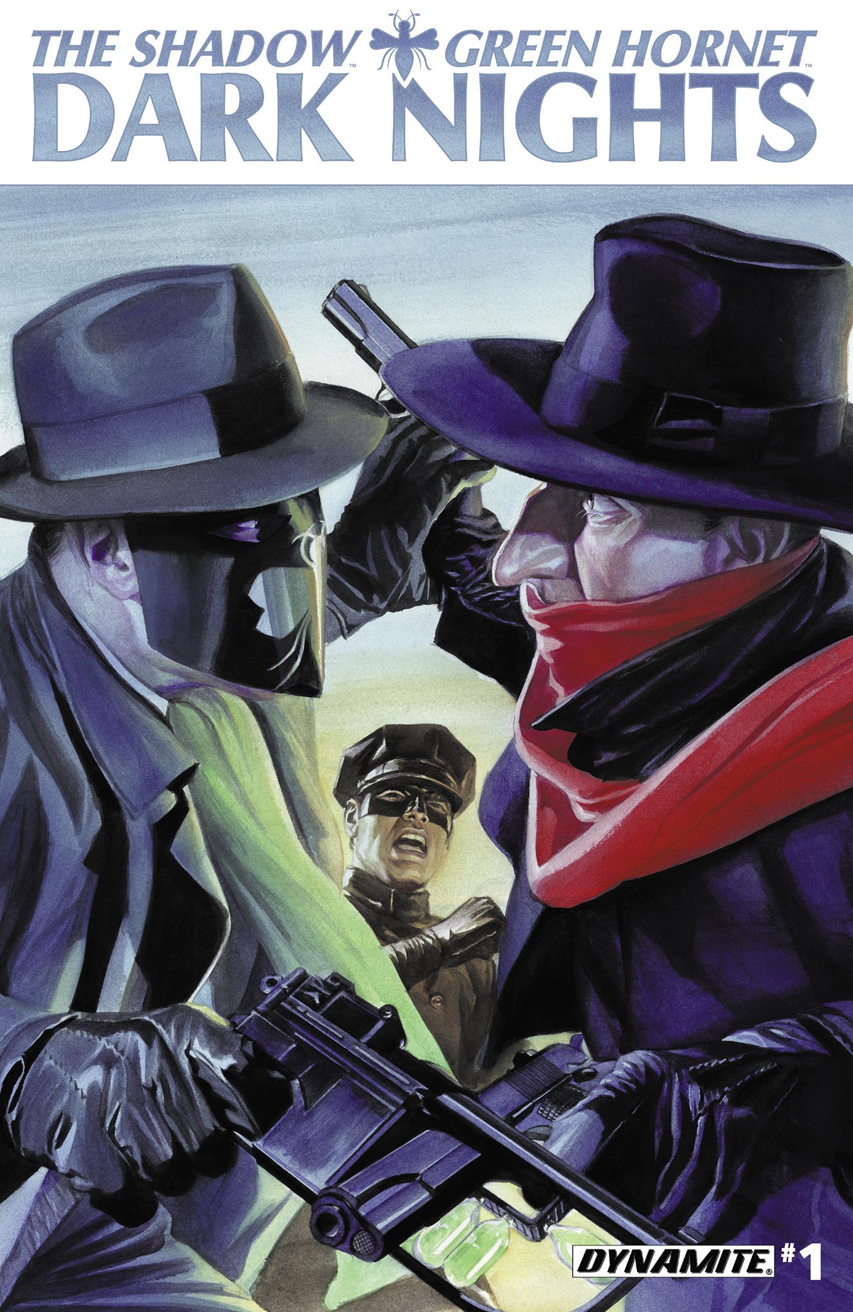 The Shadow/Green Hornet: Dark Nights 1 Page 1