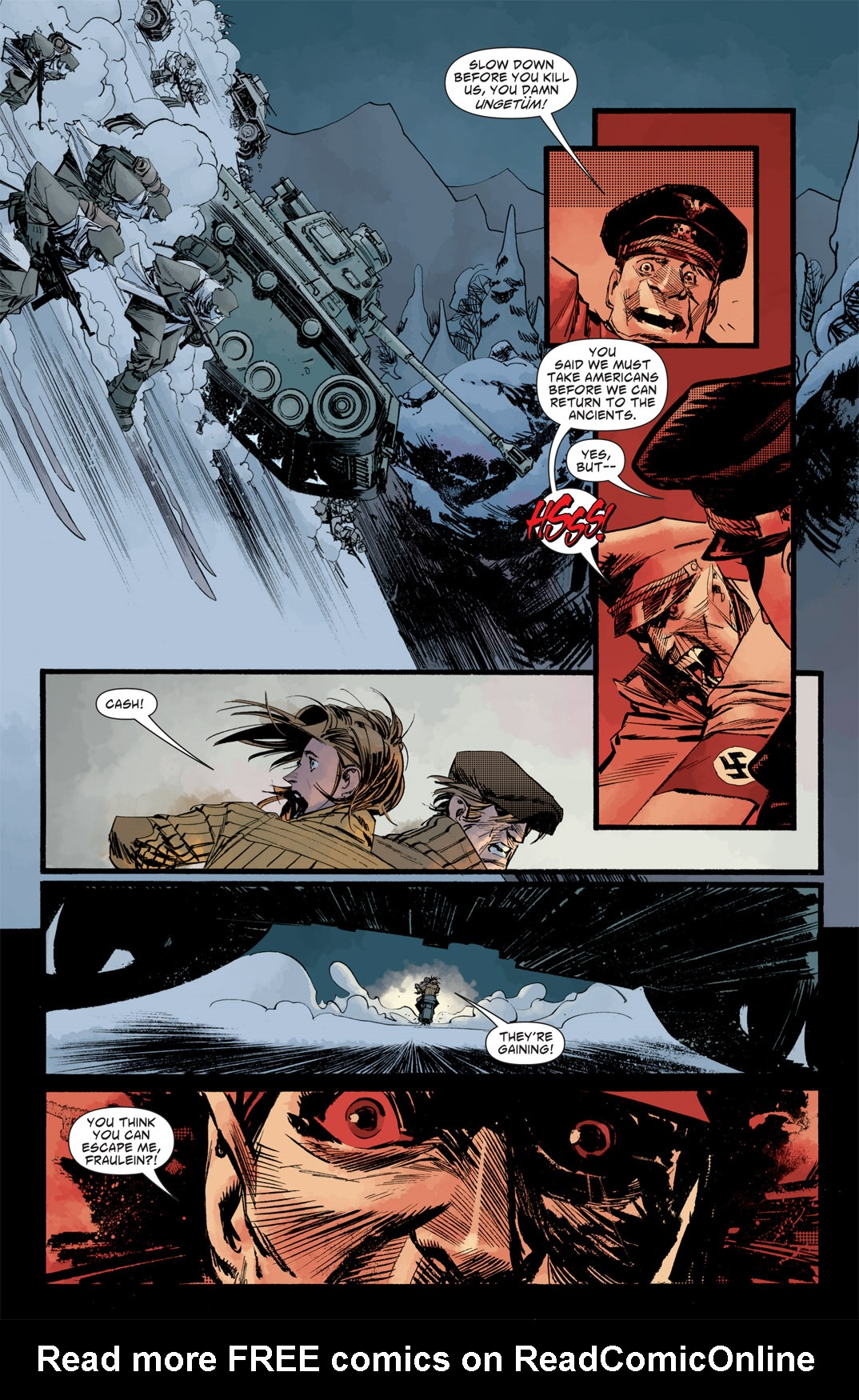 Read online American Vampire: Survival of the Fittest comic -  Issue #5 - 8