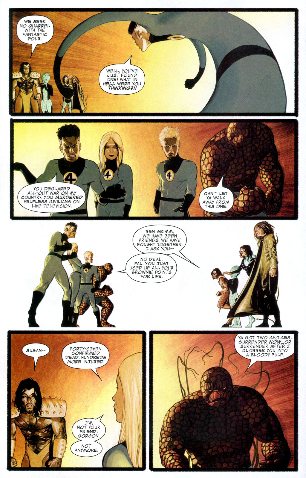 Read online Silent War comic -  Issue #1 - 10