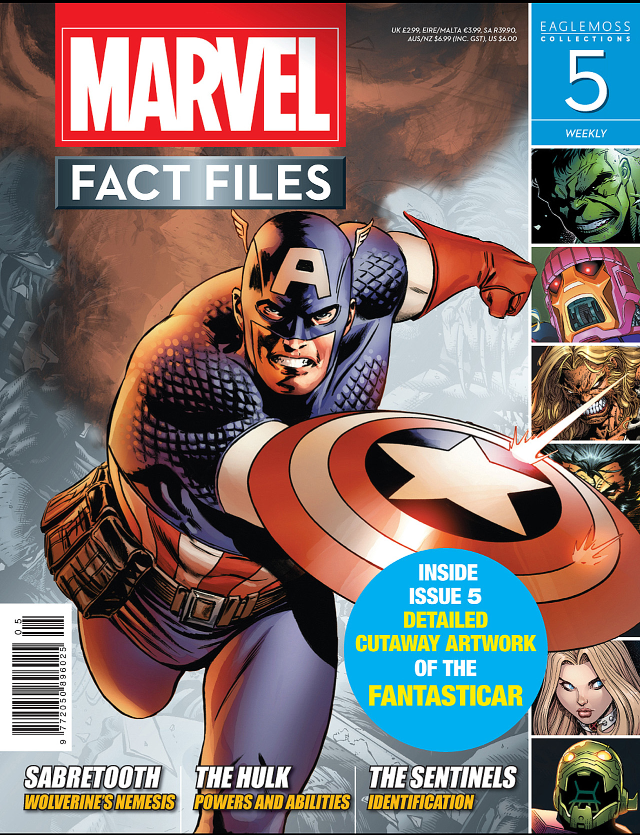 Marvel Fact Files 5 Page 1