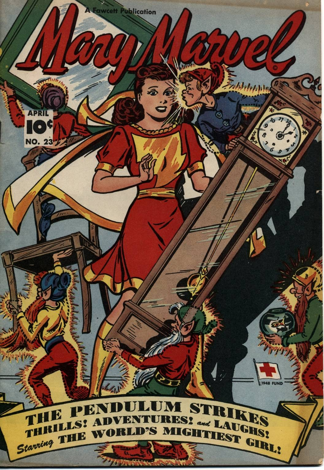 Mary Marvel 23 Page 1