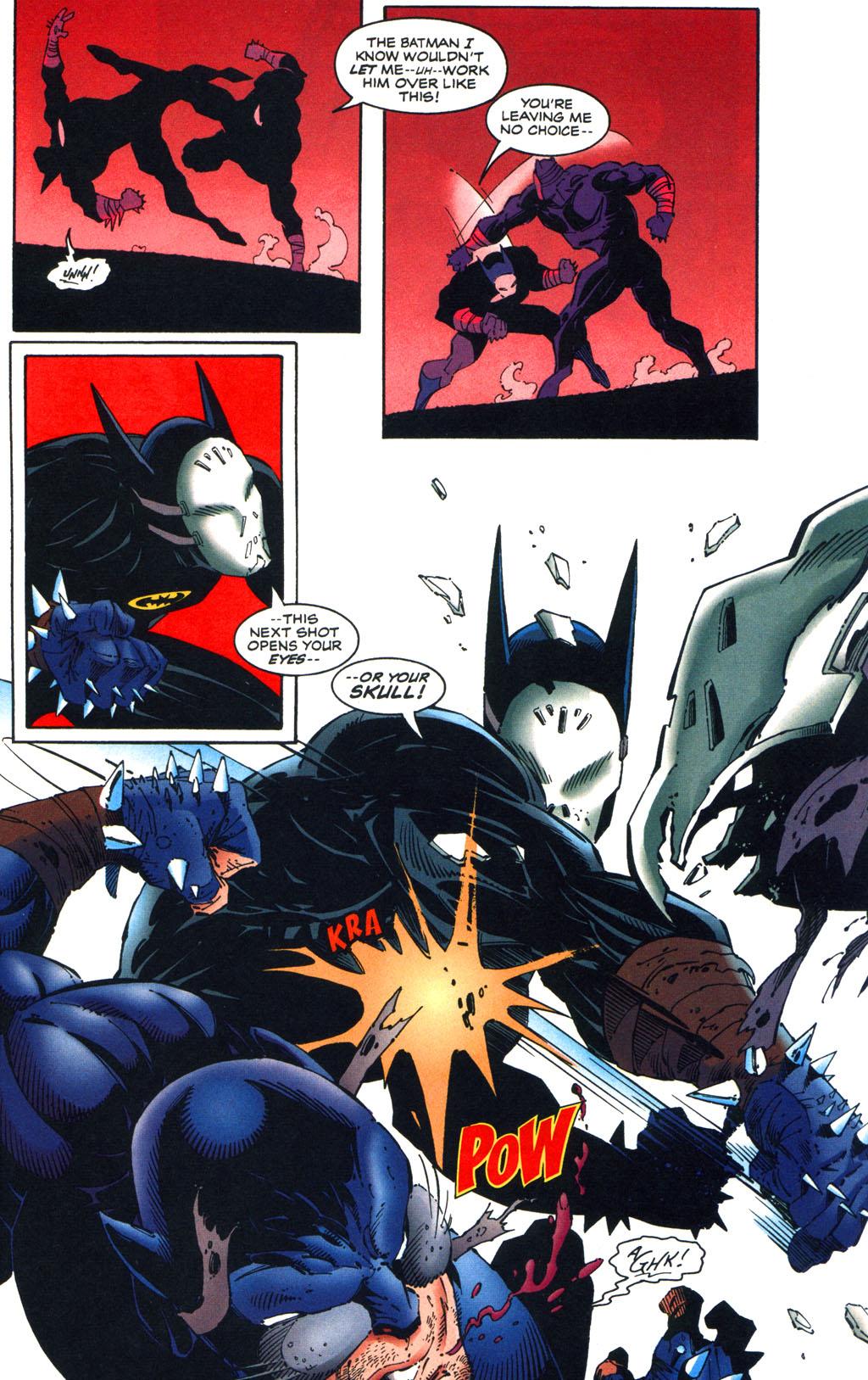 Read online Batman/Wildcat comic -  Issue #3 - 7
