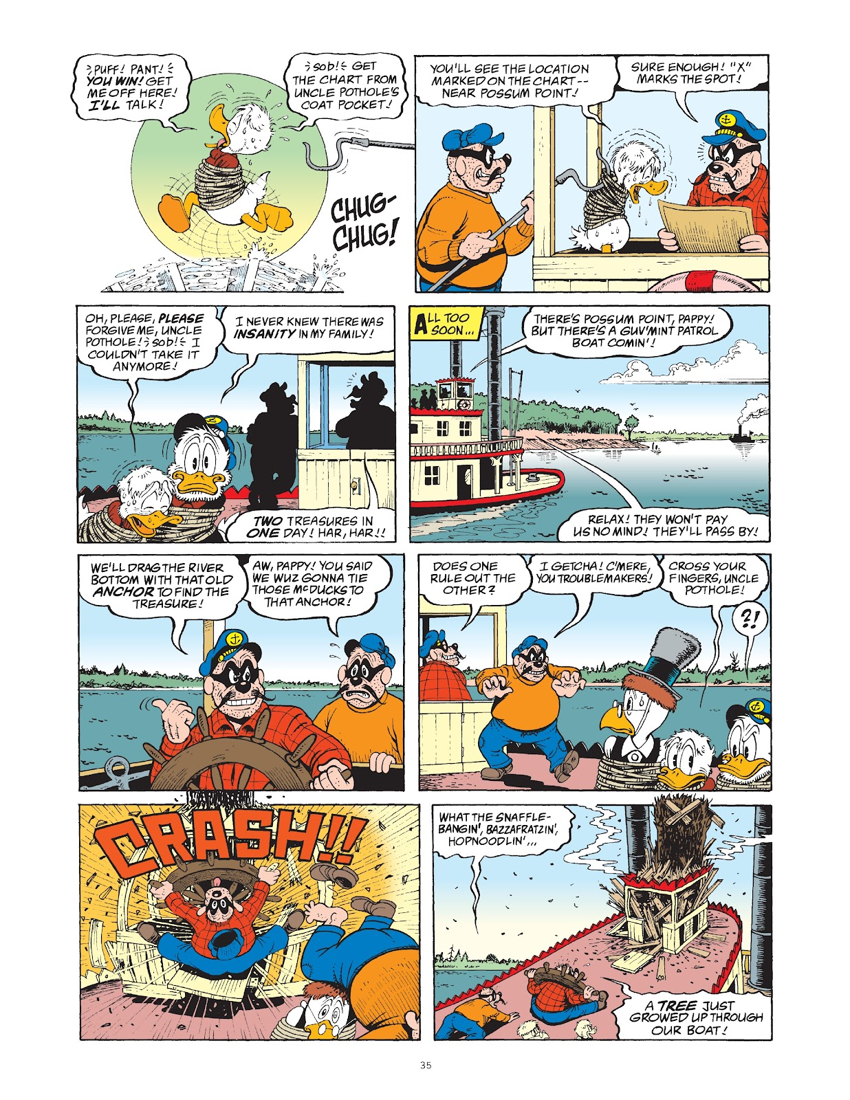 Read online The Complete Life and Times of Scrooge McDuck comic -  Issue # TPB 1 (Part 1) - 42