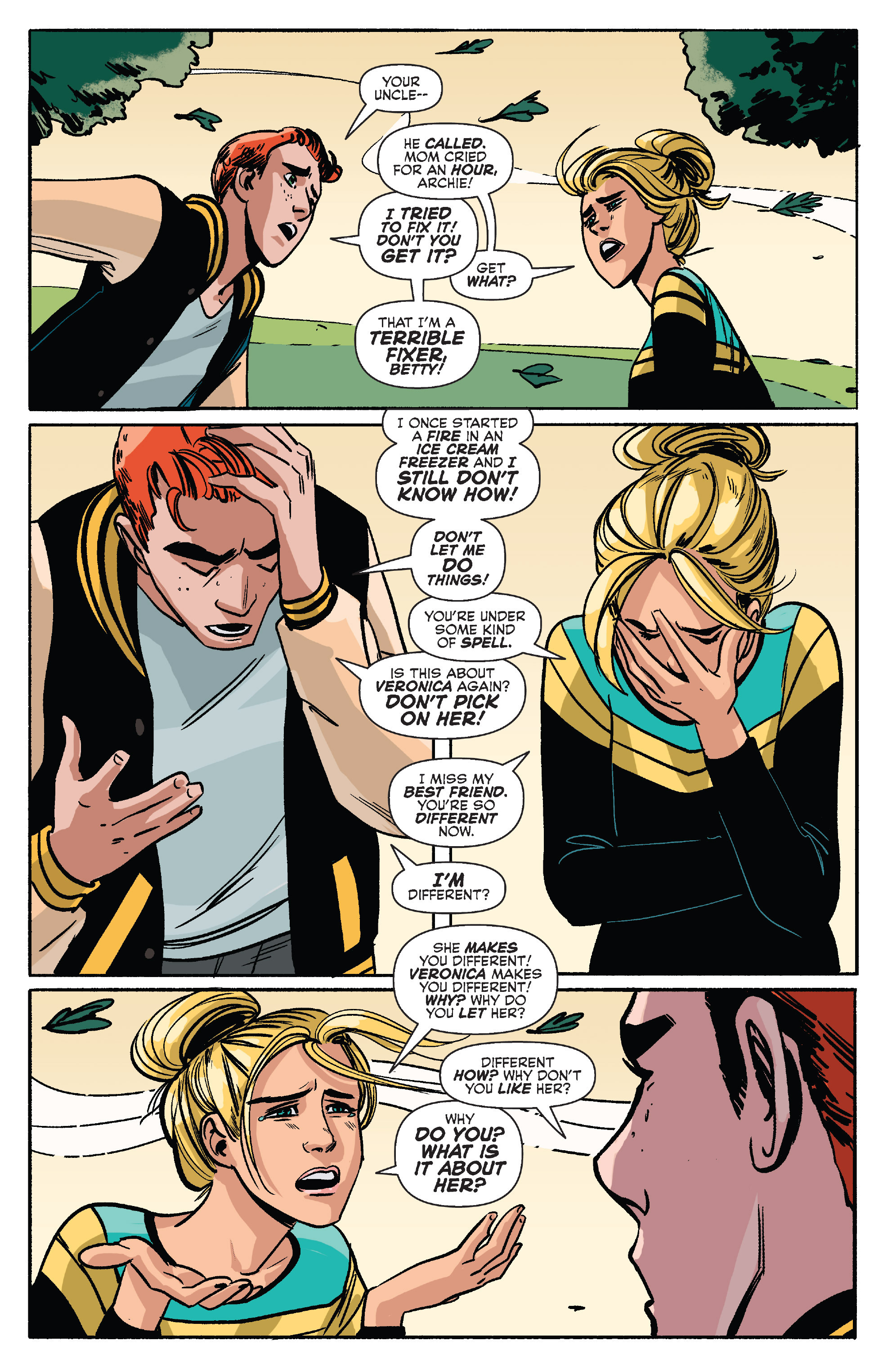 Read online Archie (2015) comic -  Issue #10 - 23