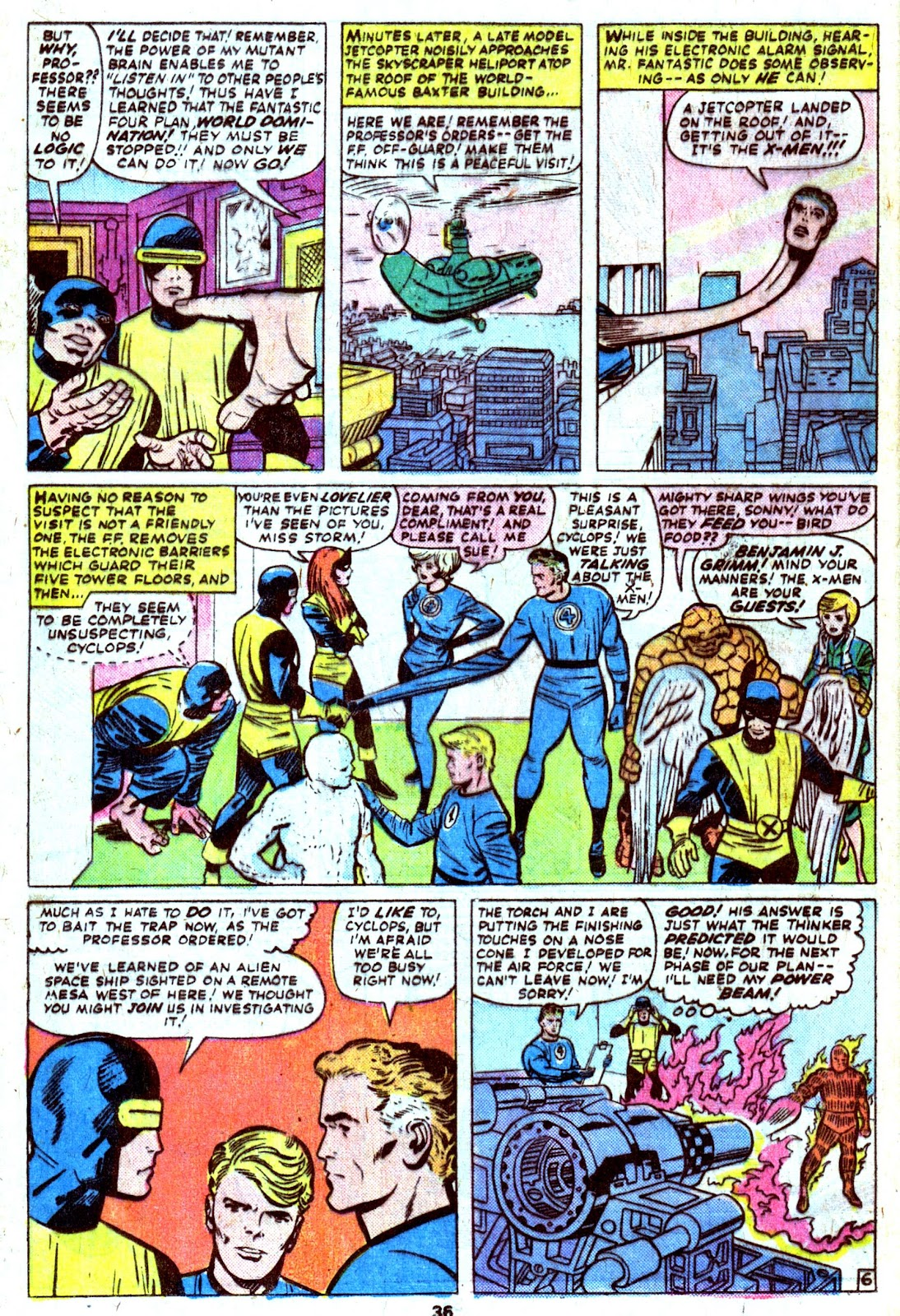 Giant-Size Fantastic Four issue 4 - Page 38