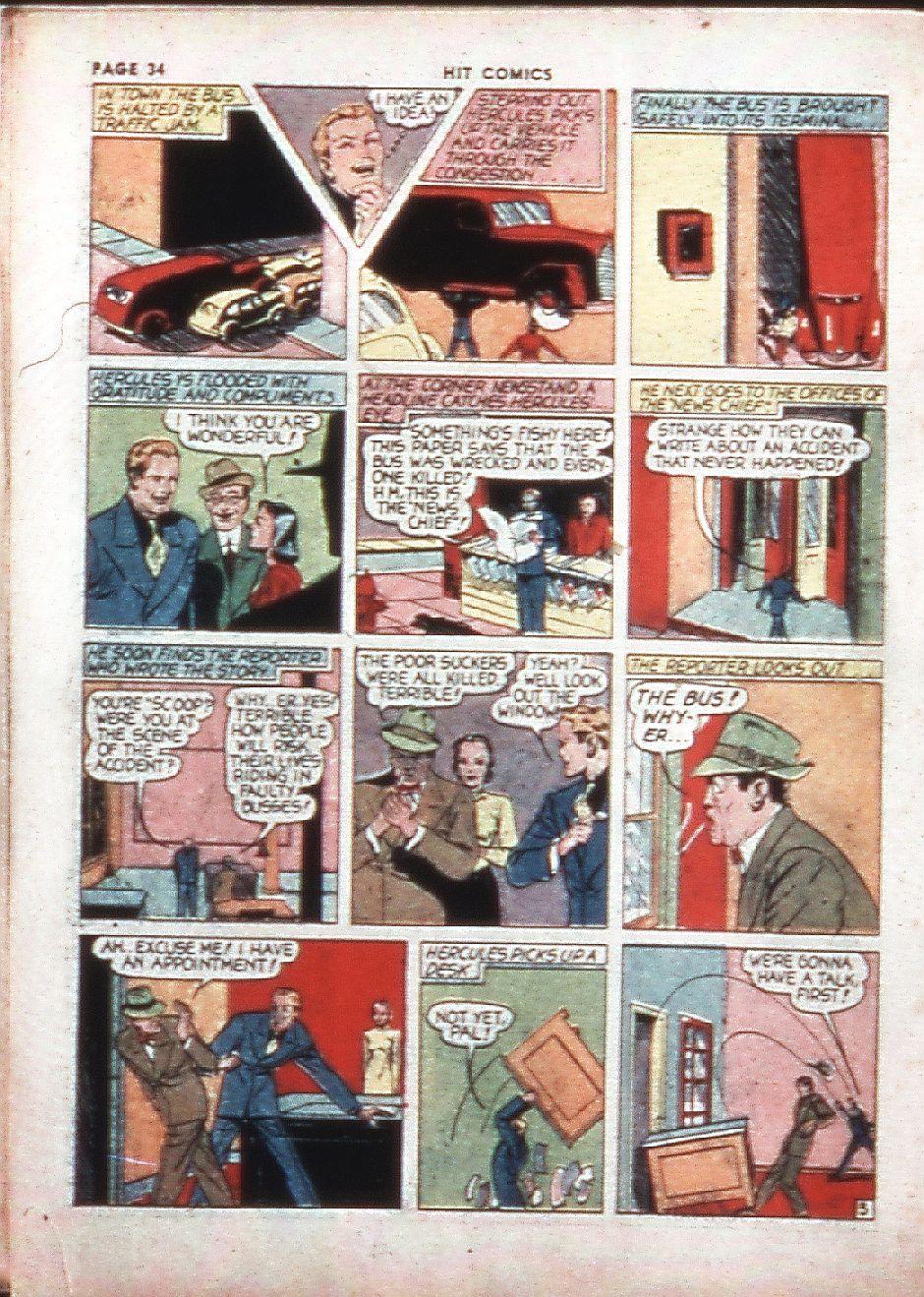 Read online Hit Comics comic -  Issue #4 - 36