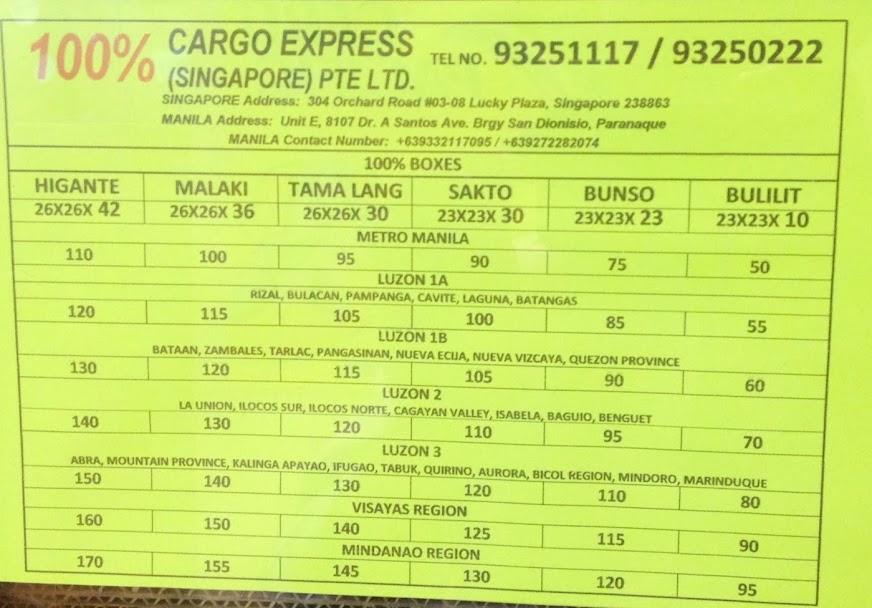 100% Cargo Express