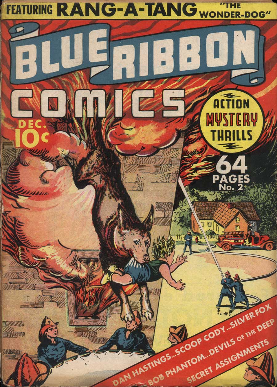 Blue Ribbon Comics (1939) issue 2 - Page 1