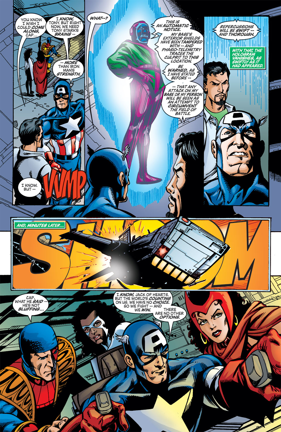 Read online Avengers (1998) comic -  Issue #46 - 22