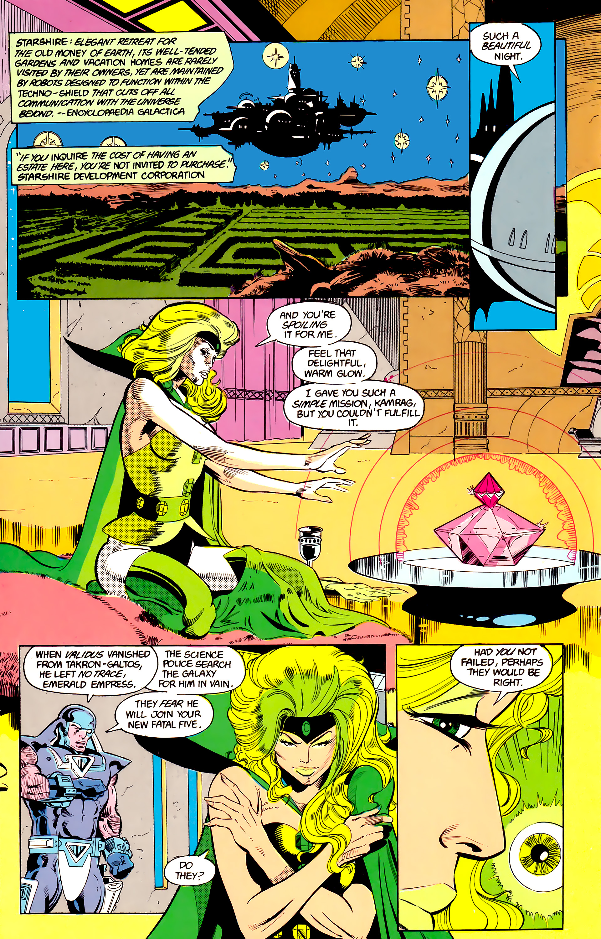 Legion of Super-Heroes (1984) 24 Page 11